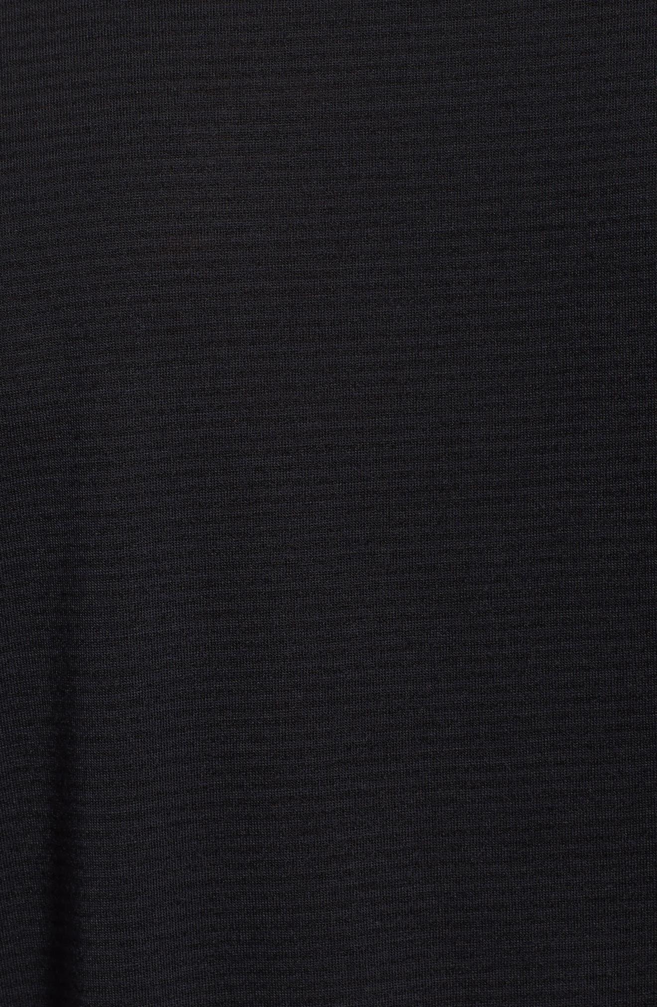 Threadborne Siro Regular Fit T-Shirt,                             Alternate thumbnail 5, color,                             001