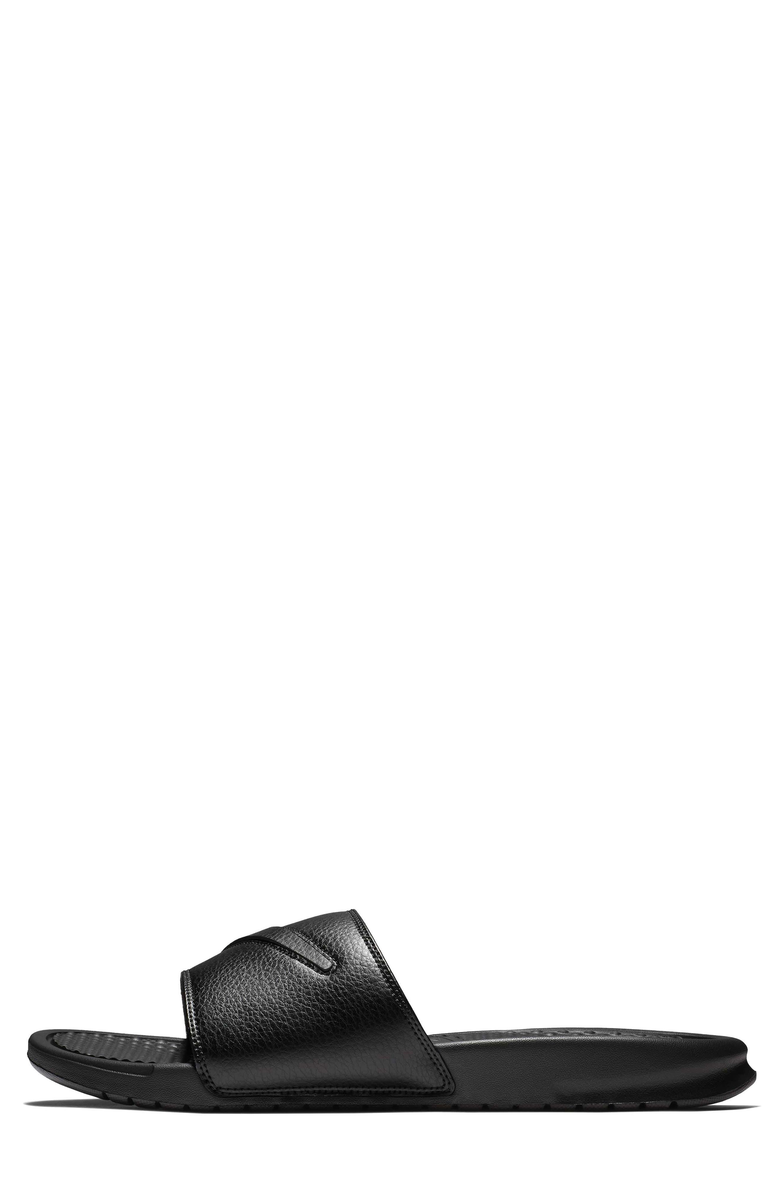 NIKE,                             Benassi JDI Customizable Slide Sandal,                             Alternate thumbnail 7, color,                             001