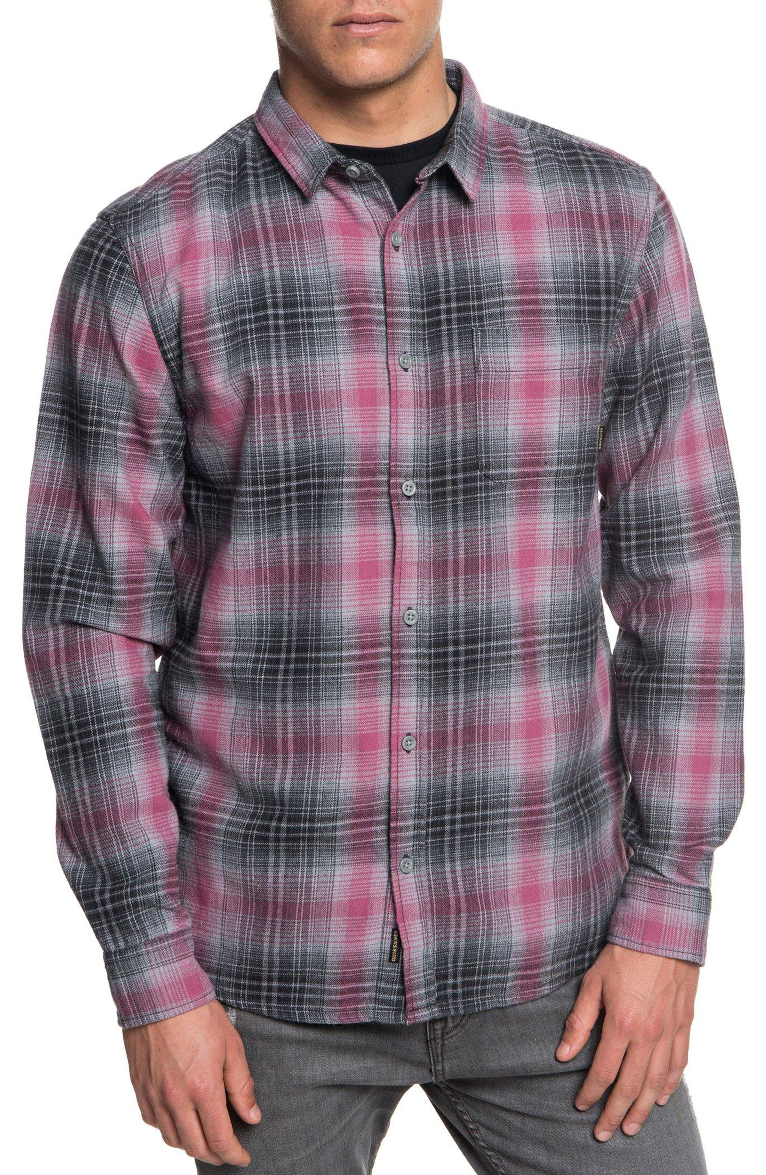 Fatherfly Flannel Shirt,                         Main,                         color, TARMAC FATHERFLY CHECK