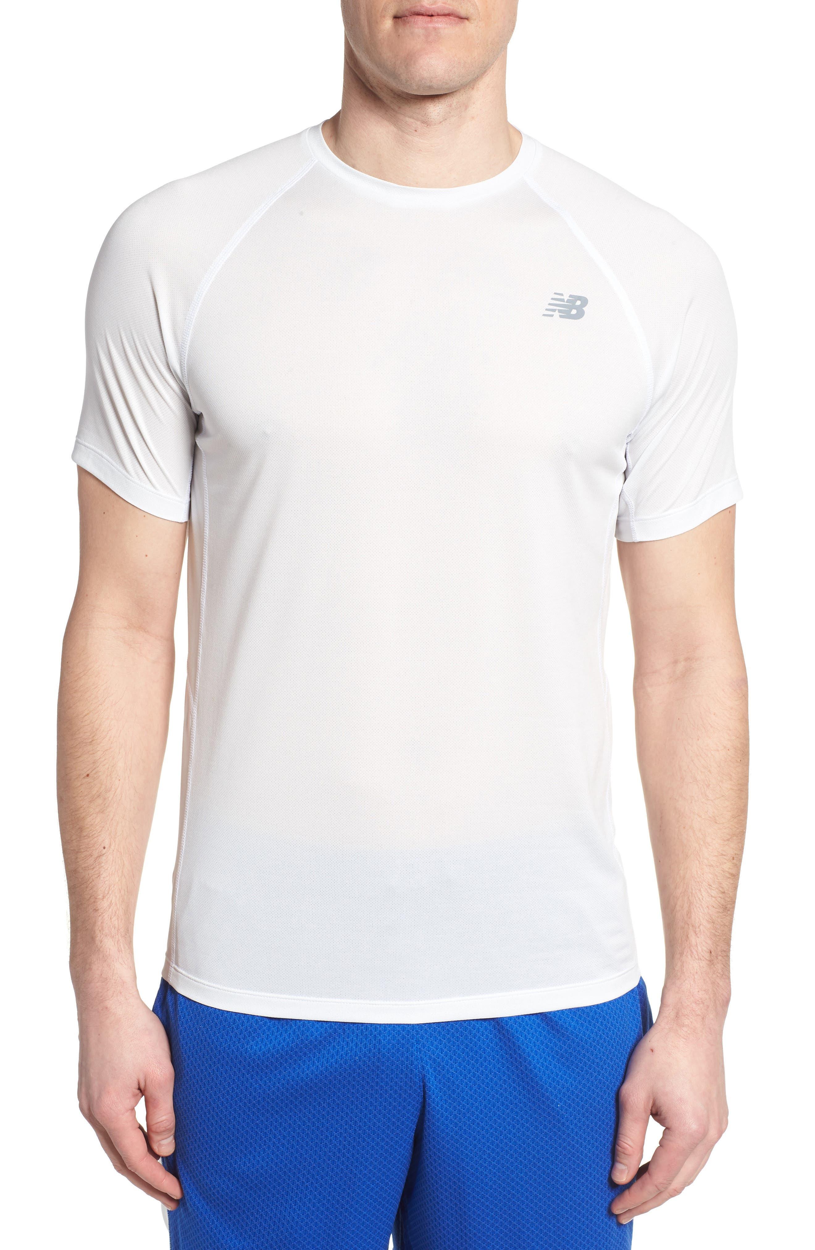 Tenacity Crewneck T-Shirt,                         Main,                         color, WHITE