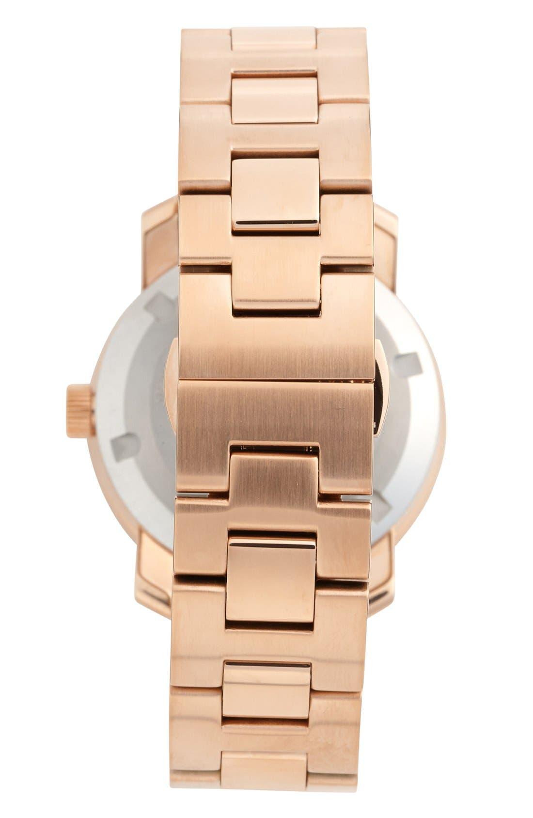 'Bold' Round Bracelet Watch, 36mm,                             Alternate thumbnail 13, color,