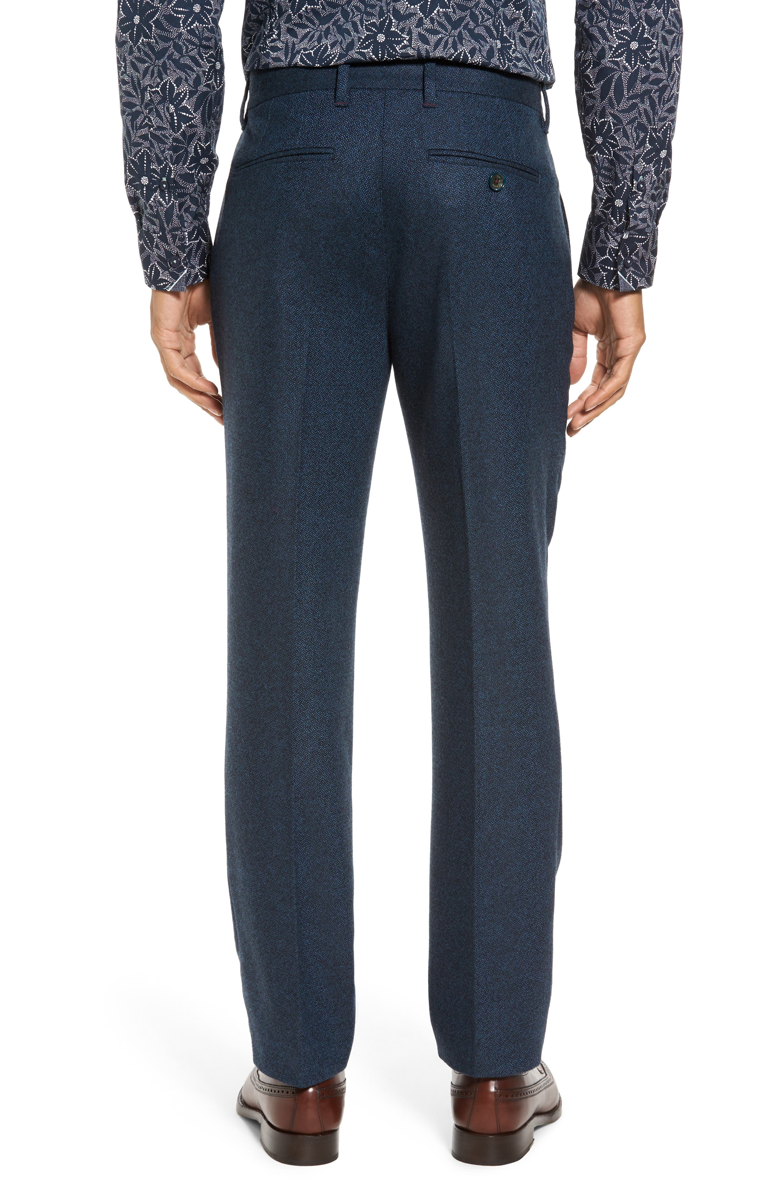 Modern Slim Fit Trousers,                             Alternate thumbnail 4, color,