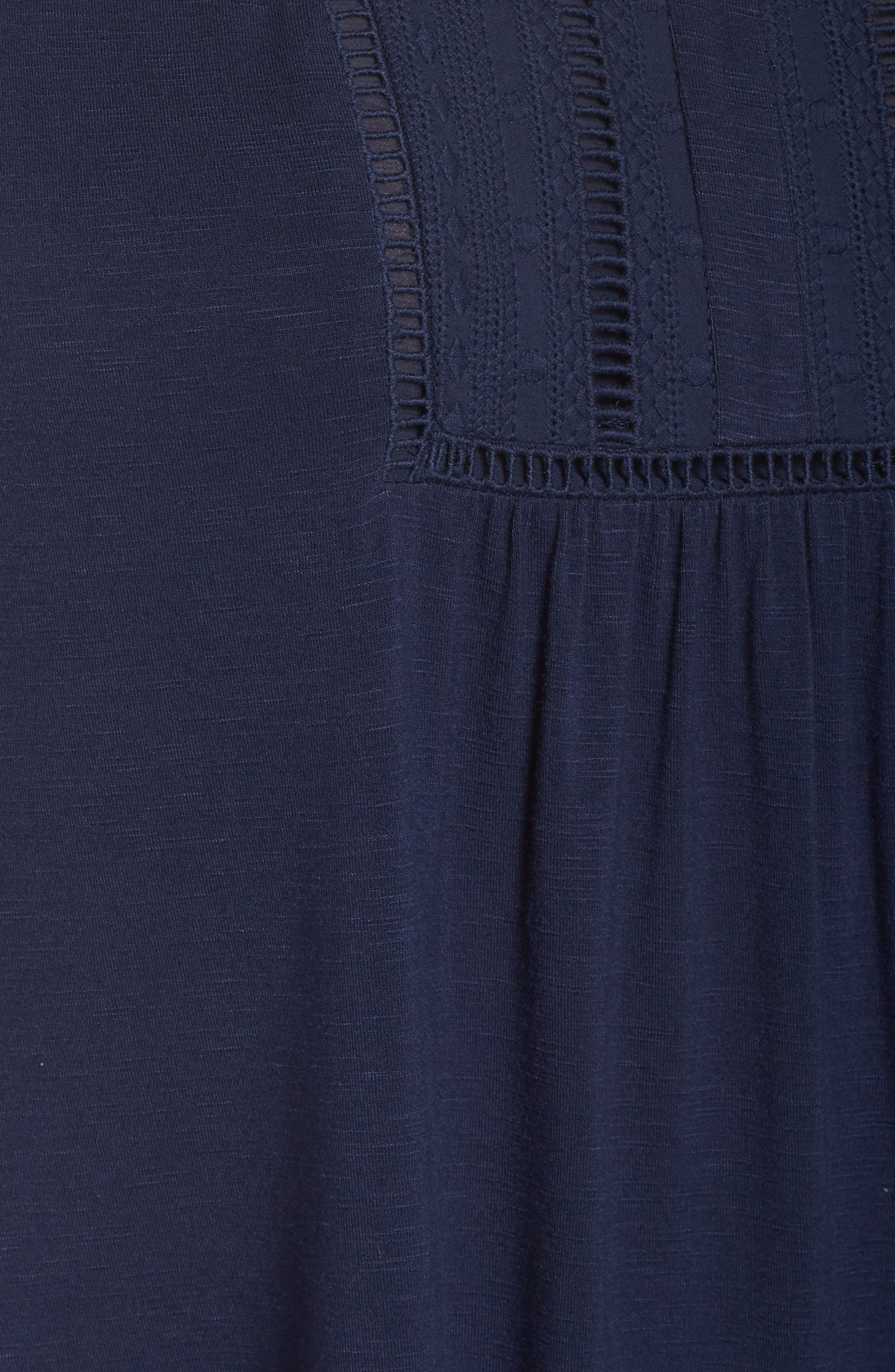 Embroidered Yoke Top,                             Alternate thumbnail 6, color,                             401
