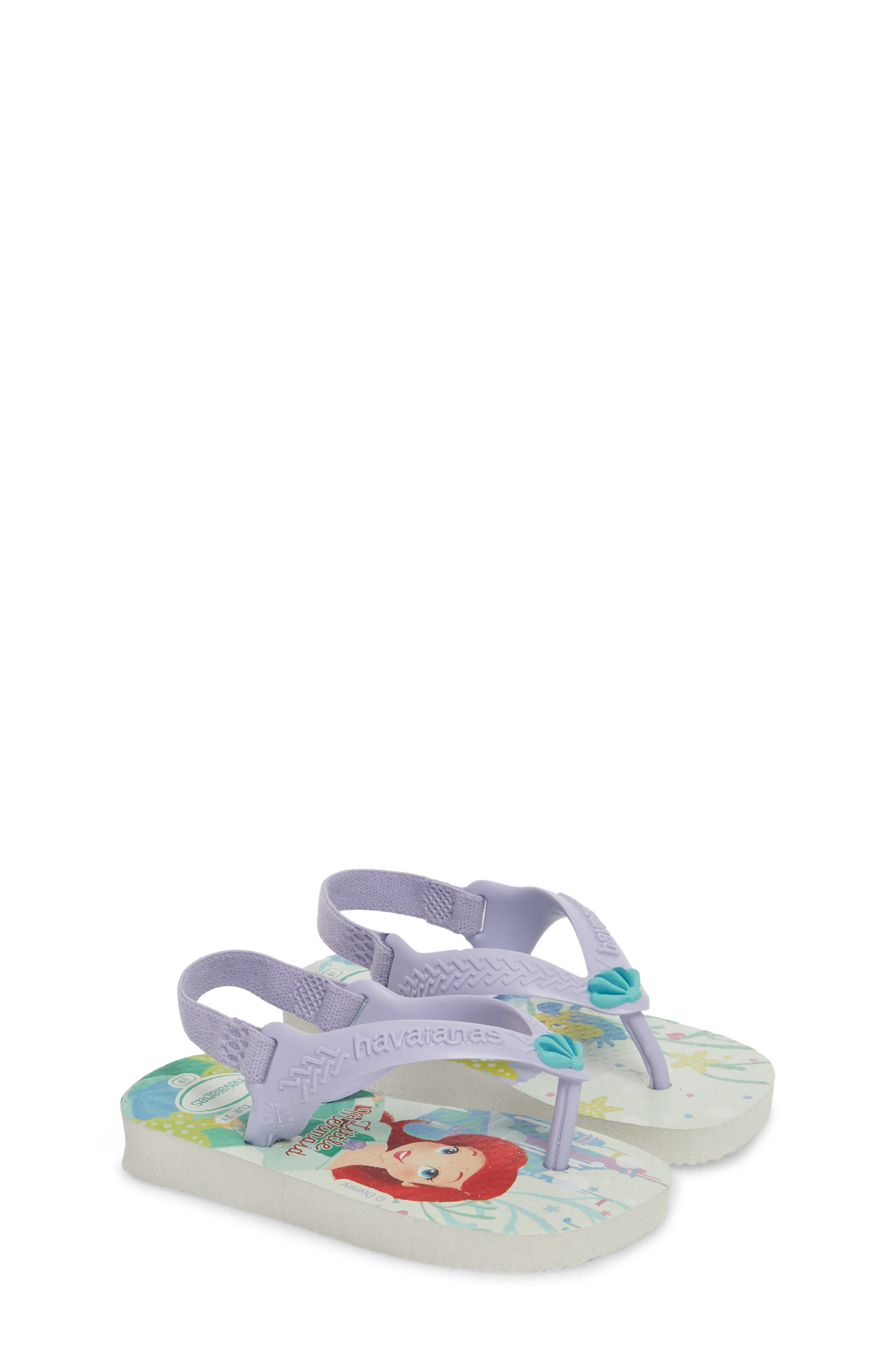 Baby Disney<sup>®</sup> Princess Flip Flop,                             Alternate thumbnail 2, color,                             100