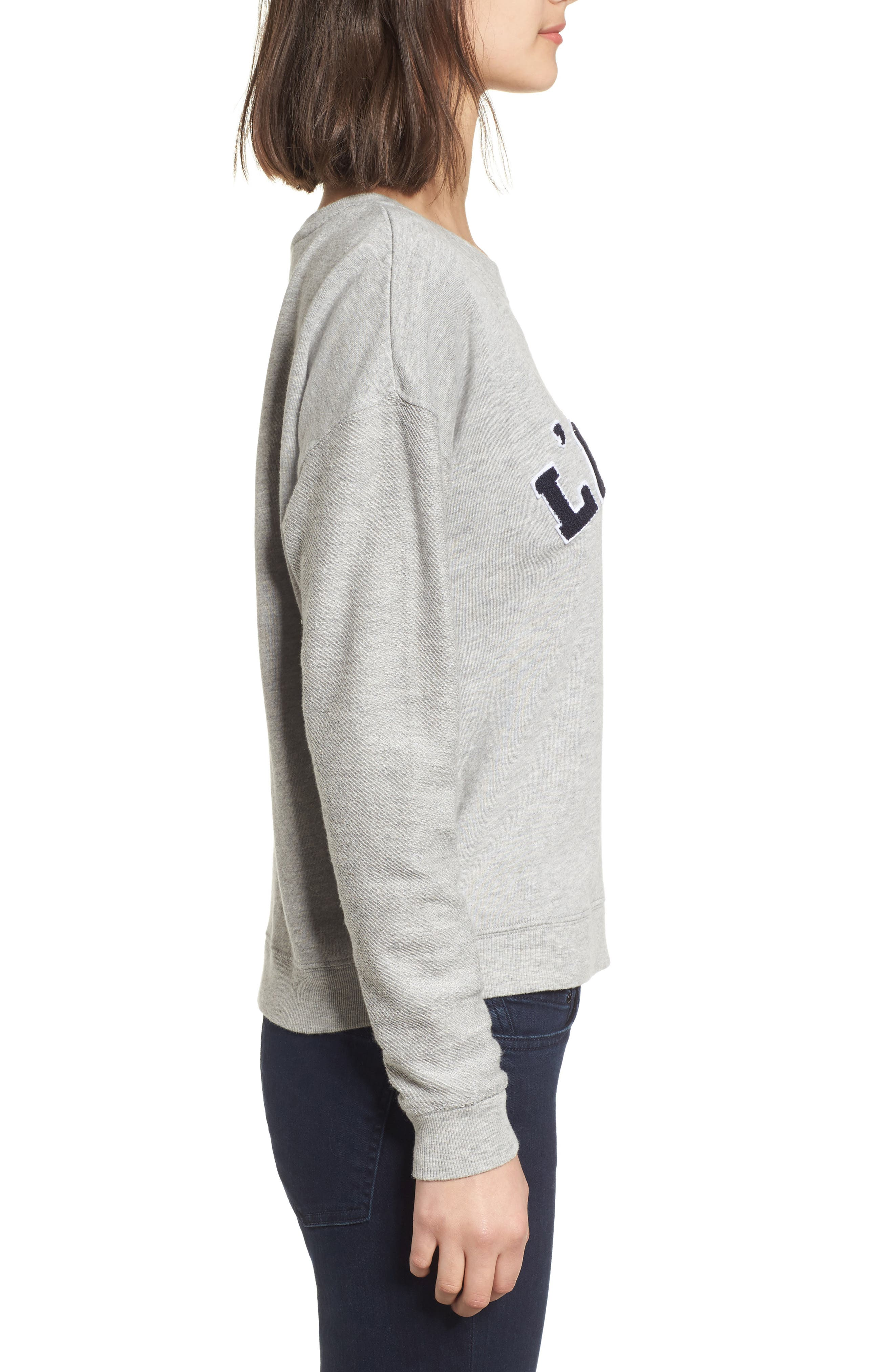 Kelli Paris Sweatshirt,                             Alternate thumbnail 3, color,                             032