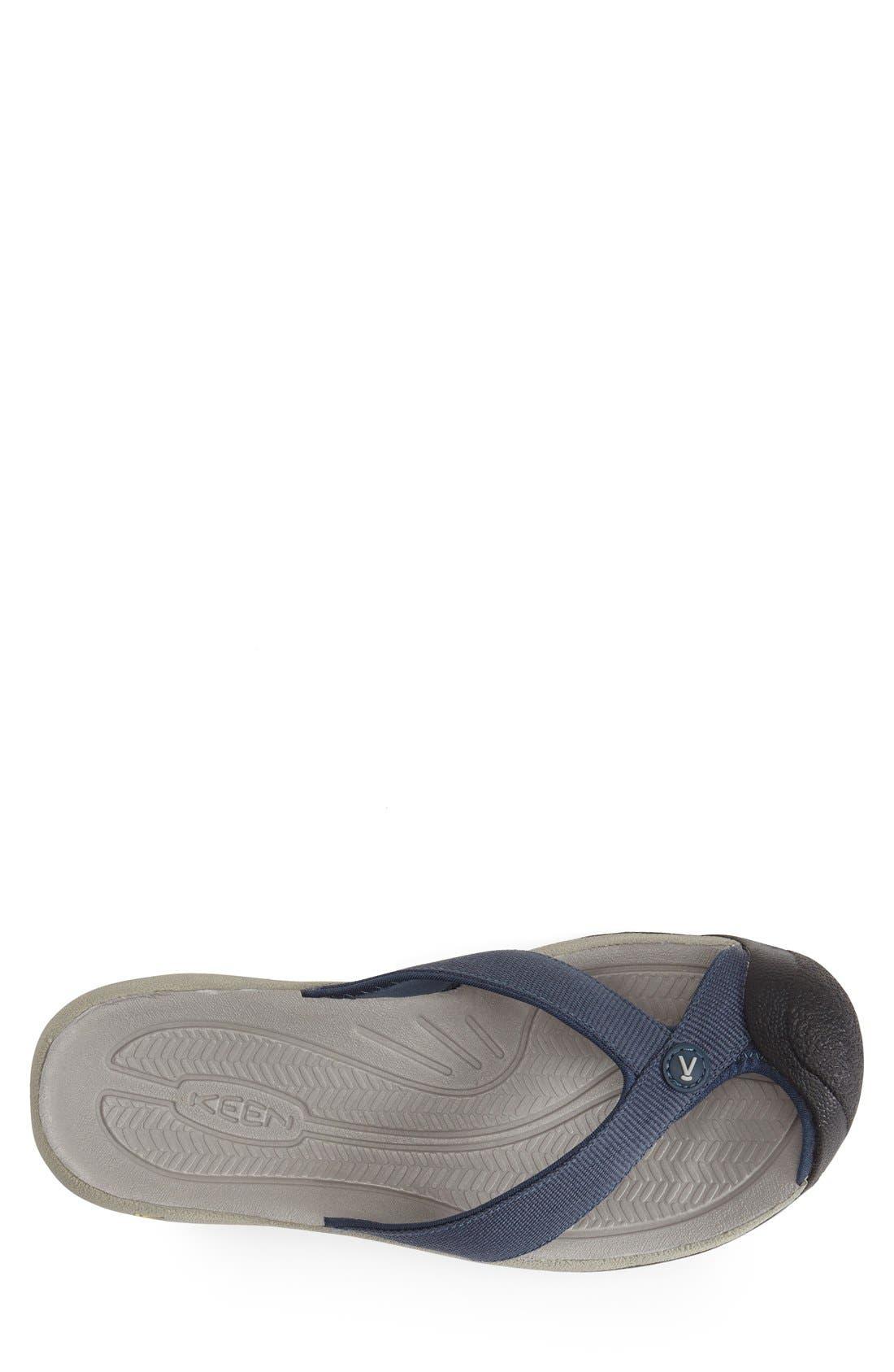 'Waimea H2' Water Thong Sandal,                             Alternate thumbnail 2, color,                             MIDNIGHT NAVY/ NEUTRAL