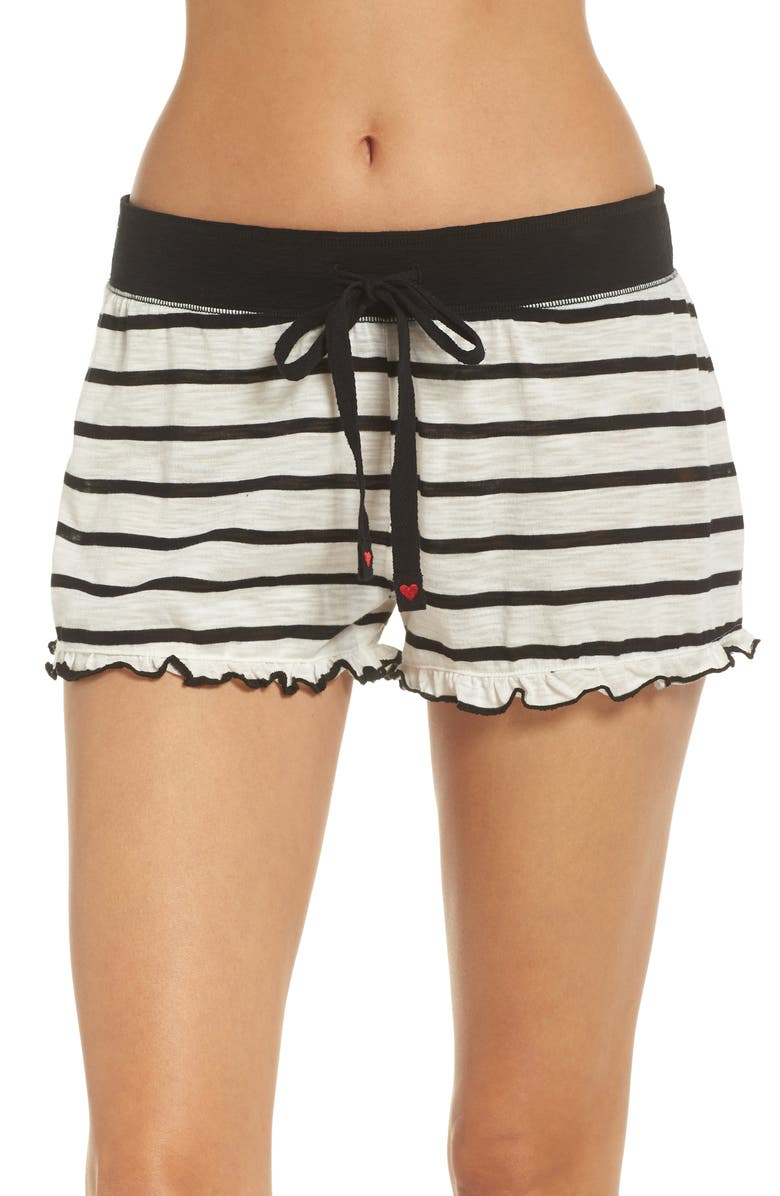 Pj Salvage True Love Stripe Shorts