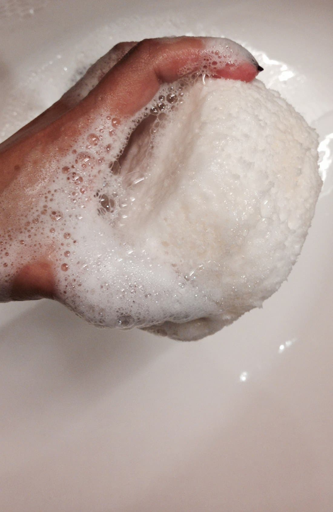 'Sexy 9 Blackberry & Vanilla Musk' Body Sponge,                             Alternate thumbnail 2, color,                             000