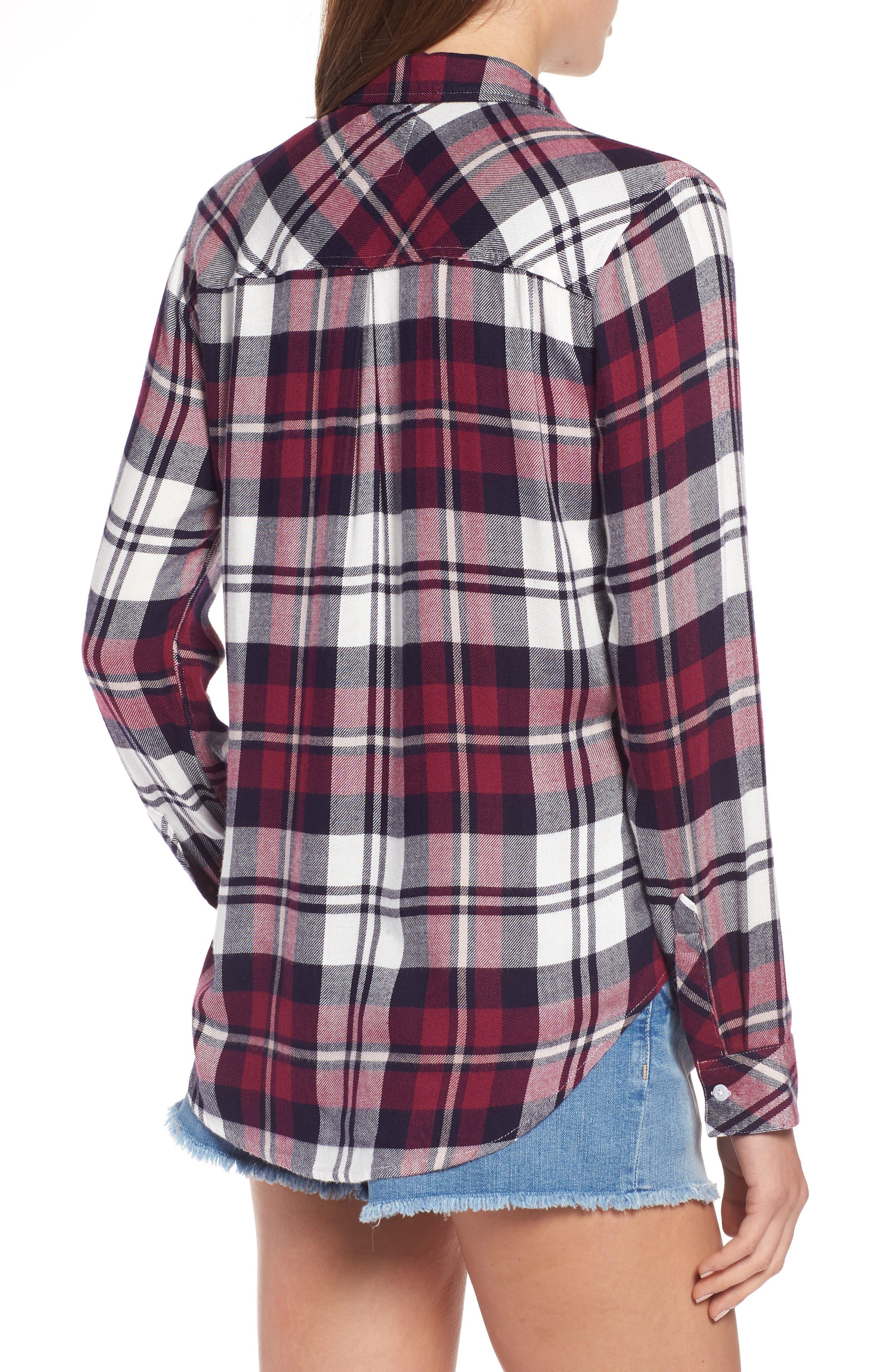 Hunter Plaid Shirt,                             Alternate thumbnail 224, color,