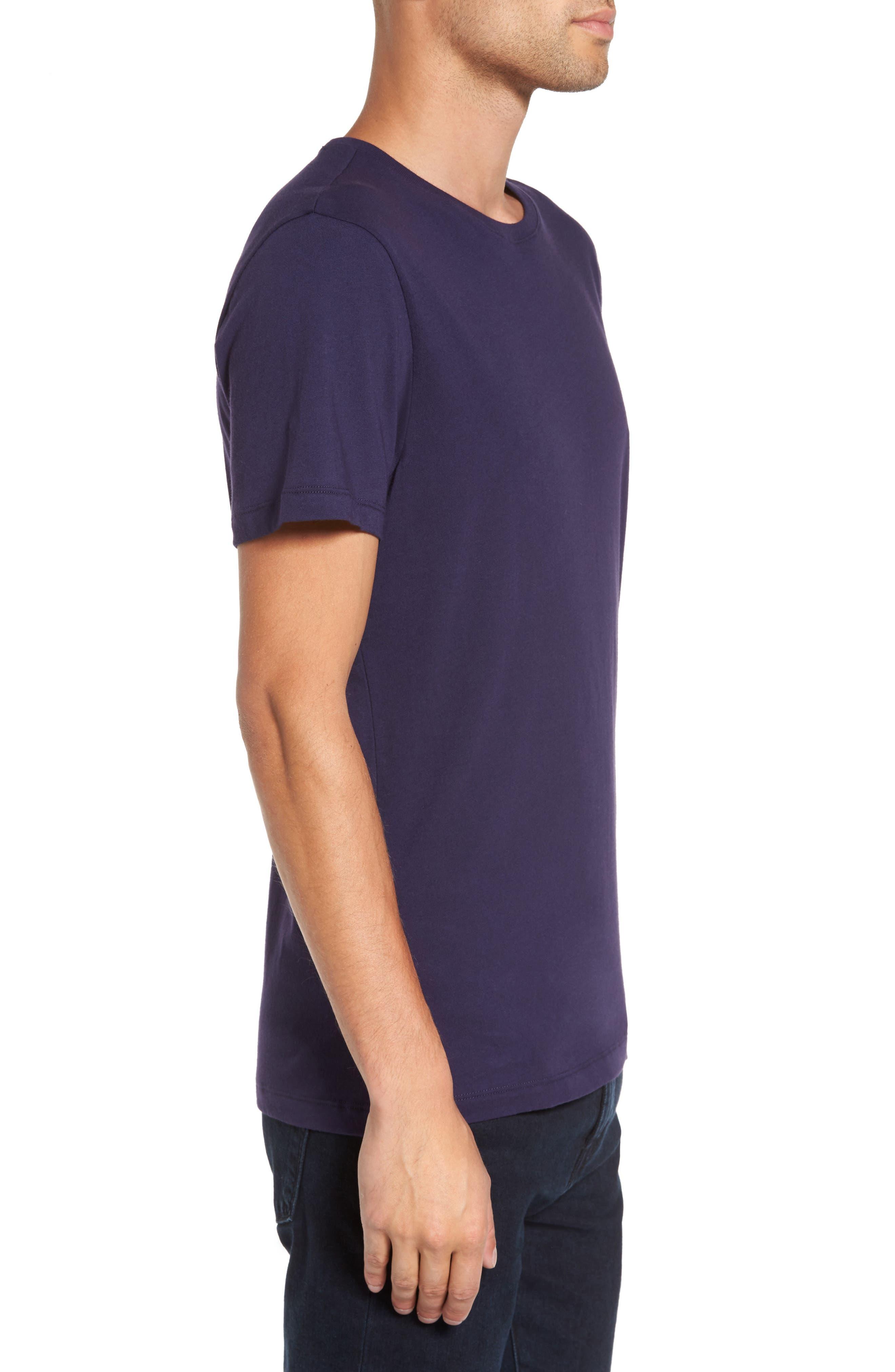 Solid T-Shirt,                             Alternate thumbnail 9, color,