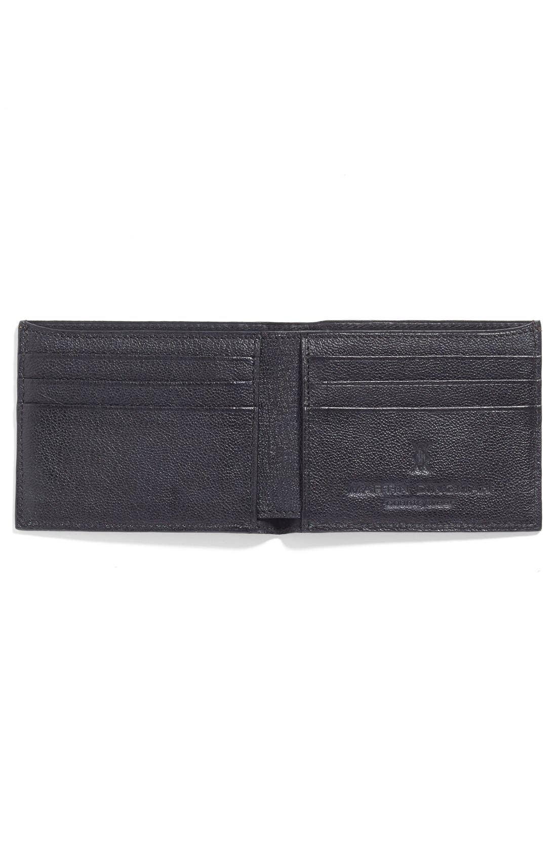 Leather Wallet,                             Alternate thumbnail 3, color,