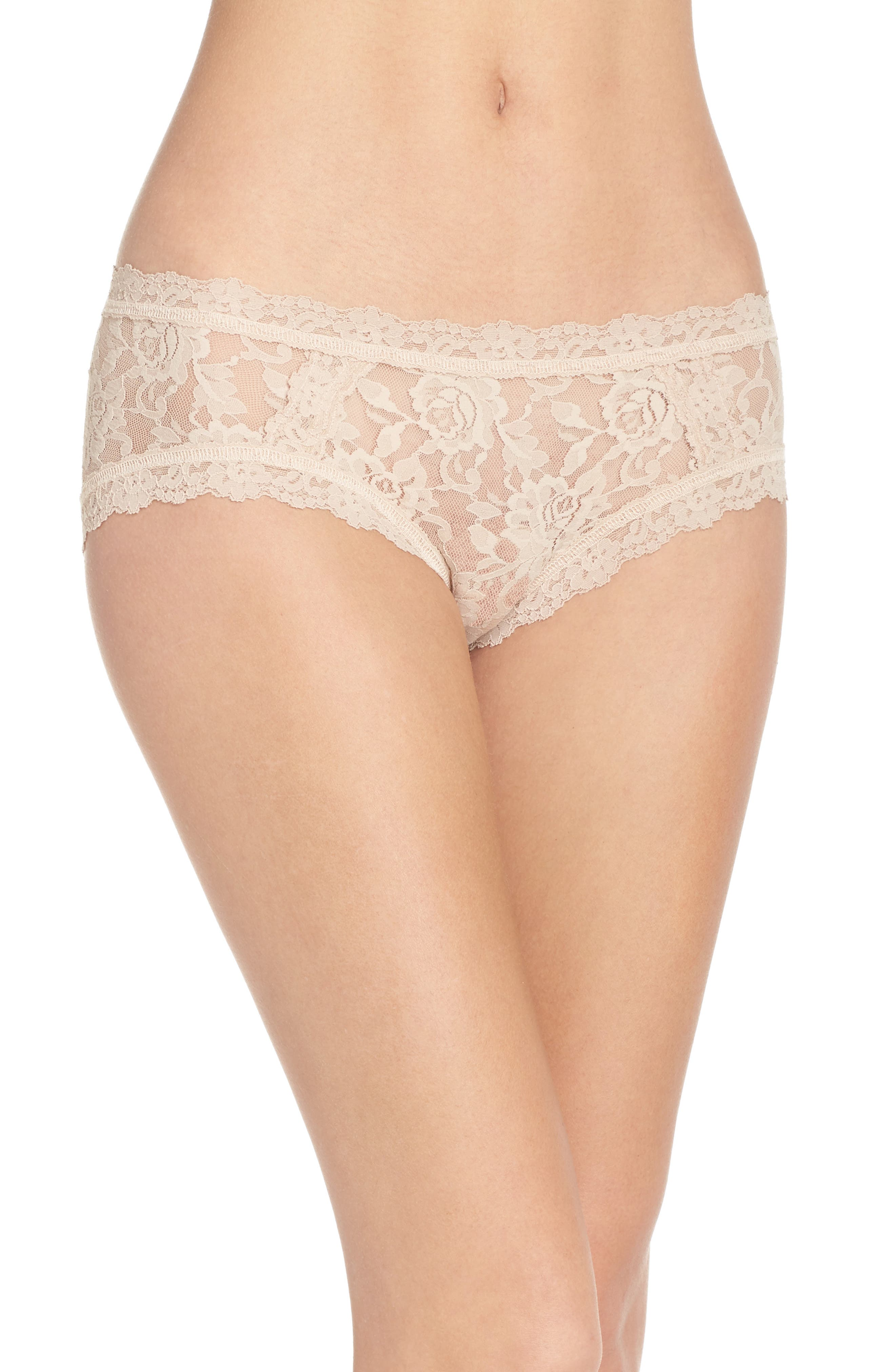Floral Stretch Lace Girlkini,                             Main thumbnail 2, color,