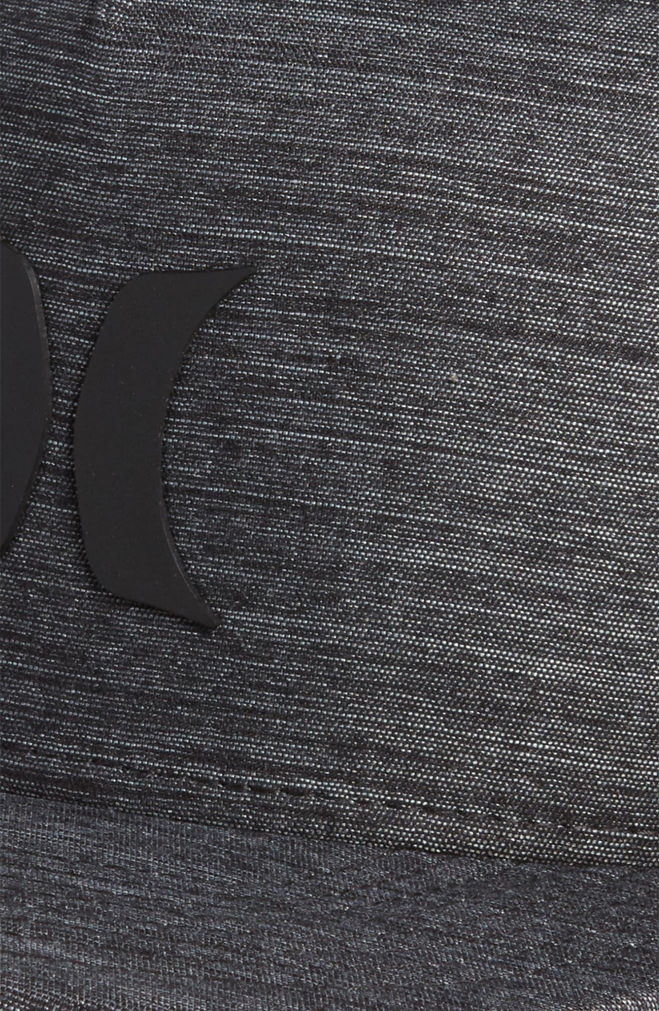 Dri-FIT Icon 4.0 Ventilated Logo Cap,                             Alternate thumbnail 3, color,                             BLACK/ BLACK