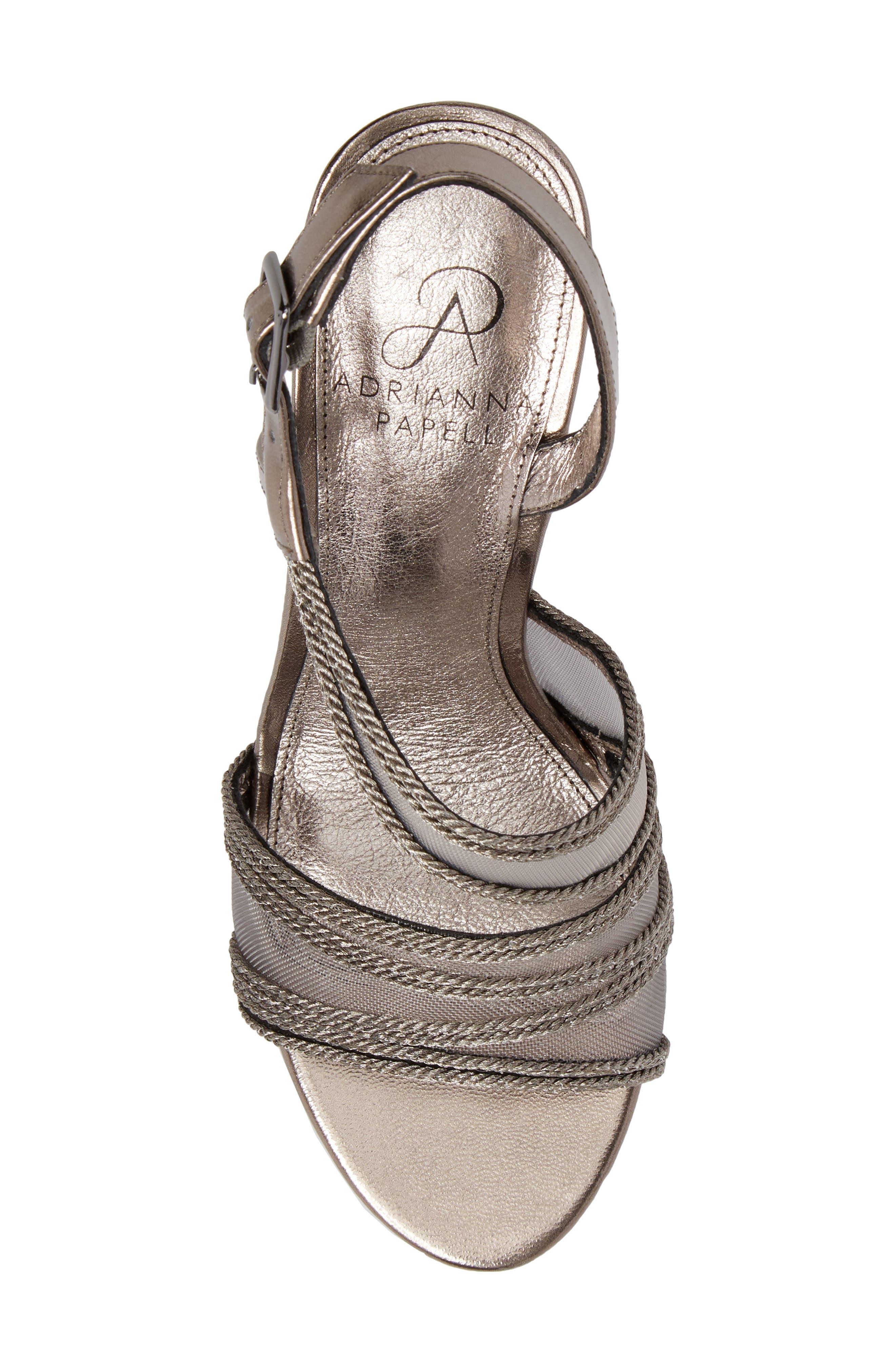 Adelphi Asymmetrical Mesh Sandal,                             Alternate thumbnail 18, color,