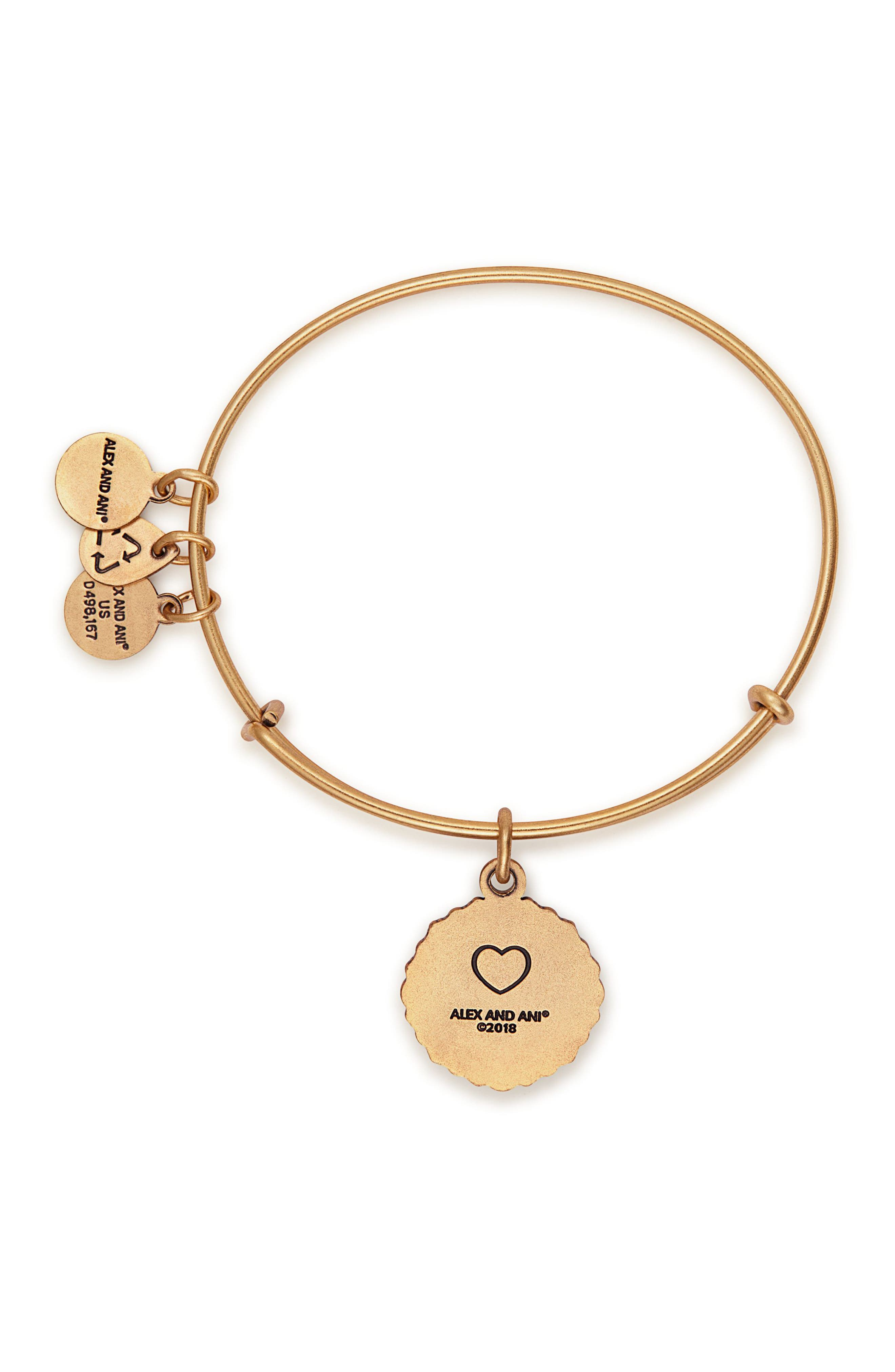 ALEX AND ANI,                             Because I Love You Bracelet,                             Alternate thumbnail 2, color,                             GOLD