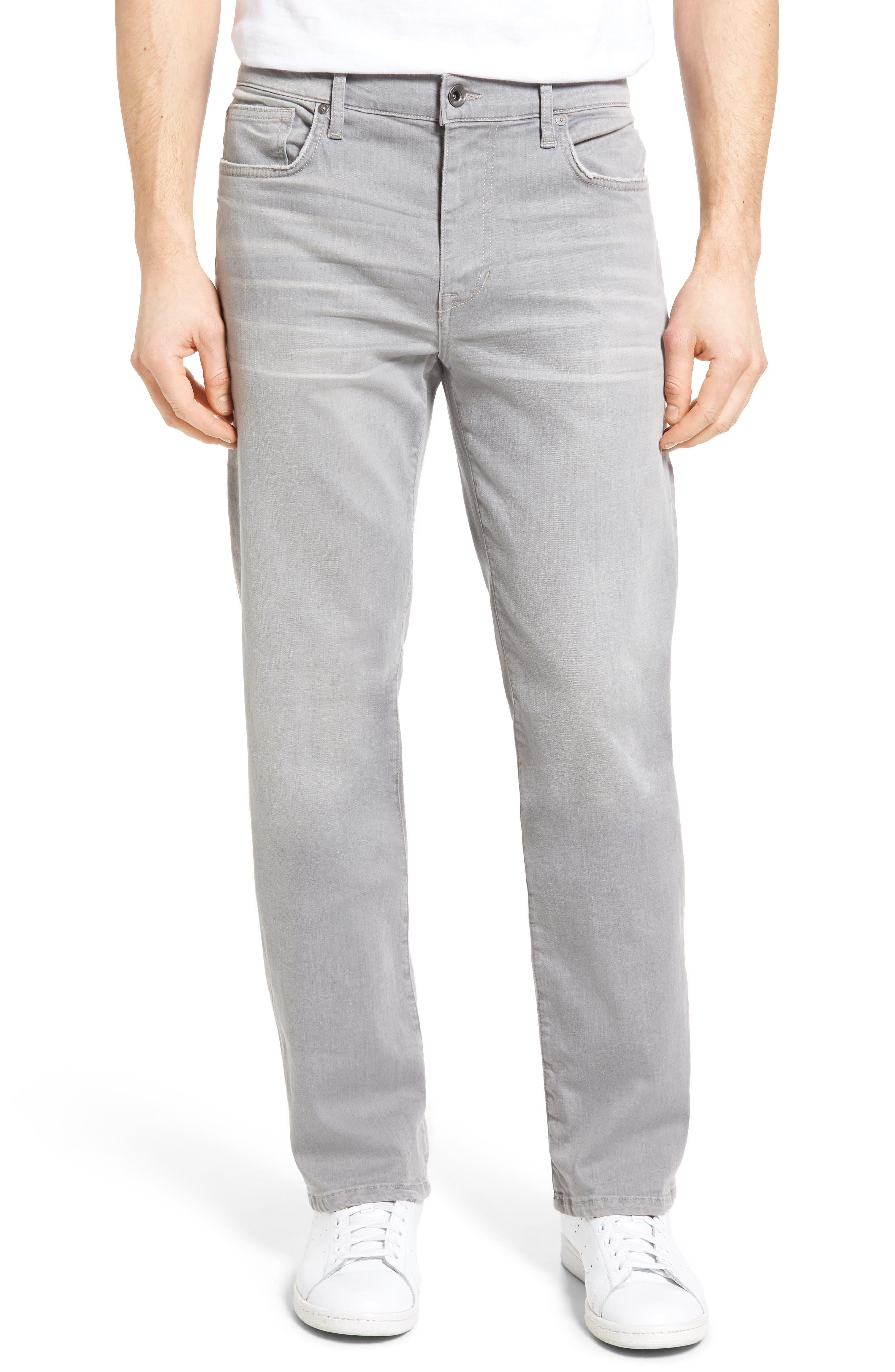 Classic Straight Leg Jeans,                             Main thumbnail 1, color,                             050