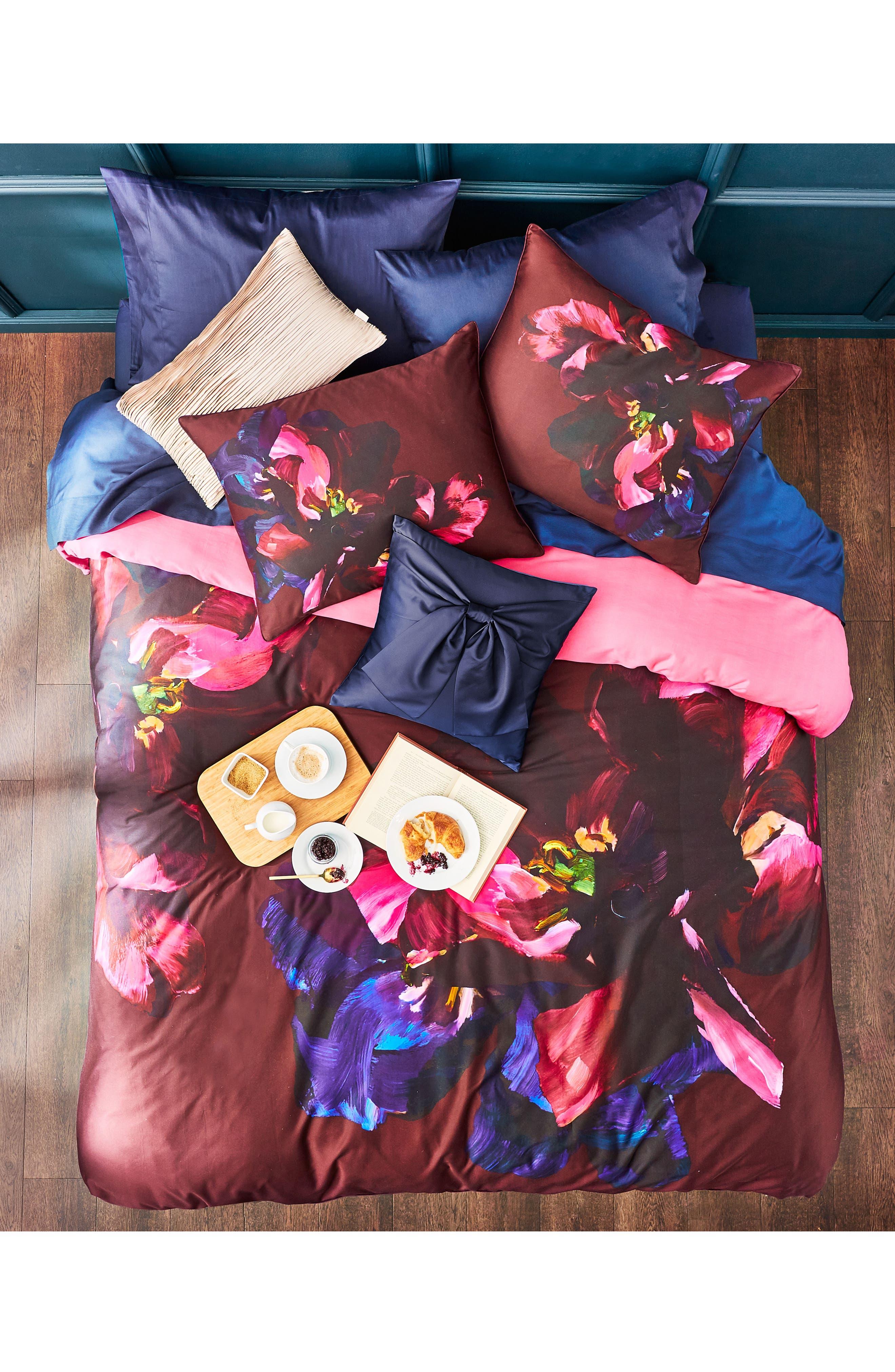 TED BAKER LONDON,                             Impressionist Bloom Comforter & Sham Set,                             Alternate thumbnail 5, color,                             650