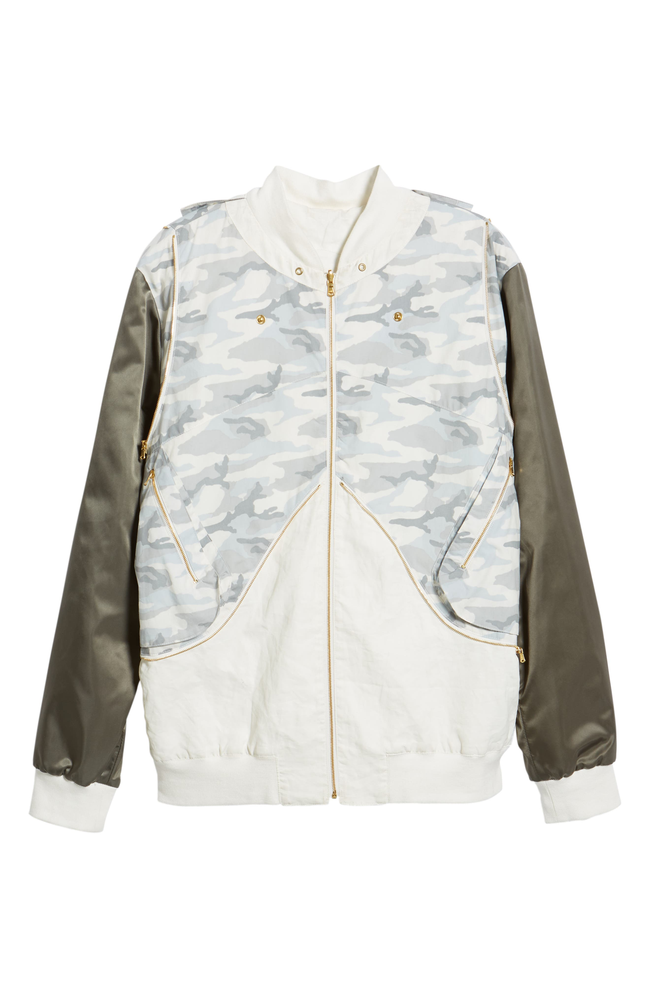 New Reversible Backpack Jacket,                             Alternate thumbnail 6, color,                             CREAM