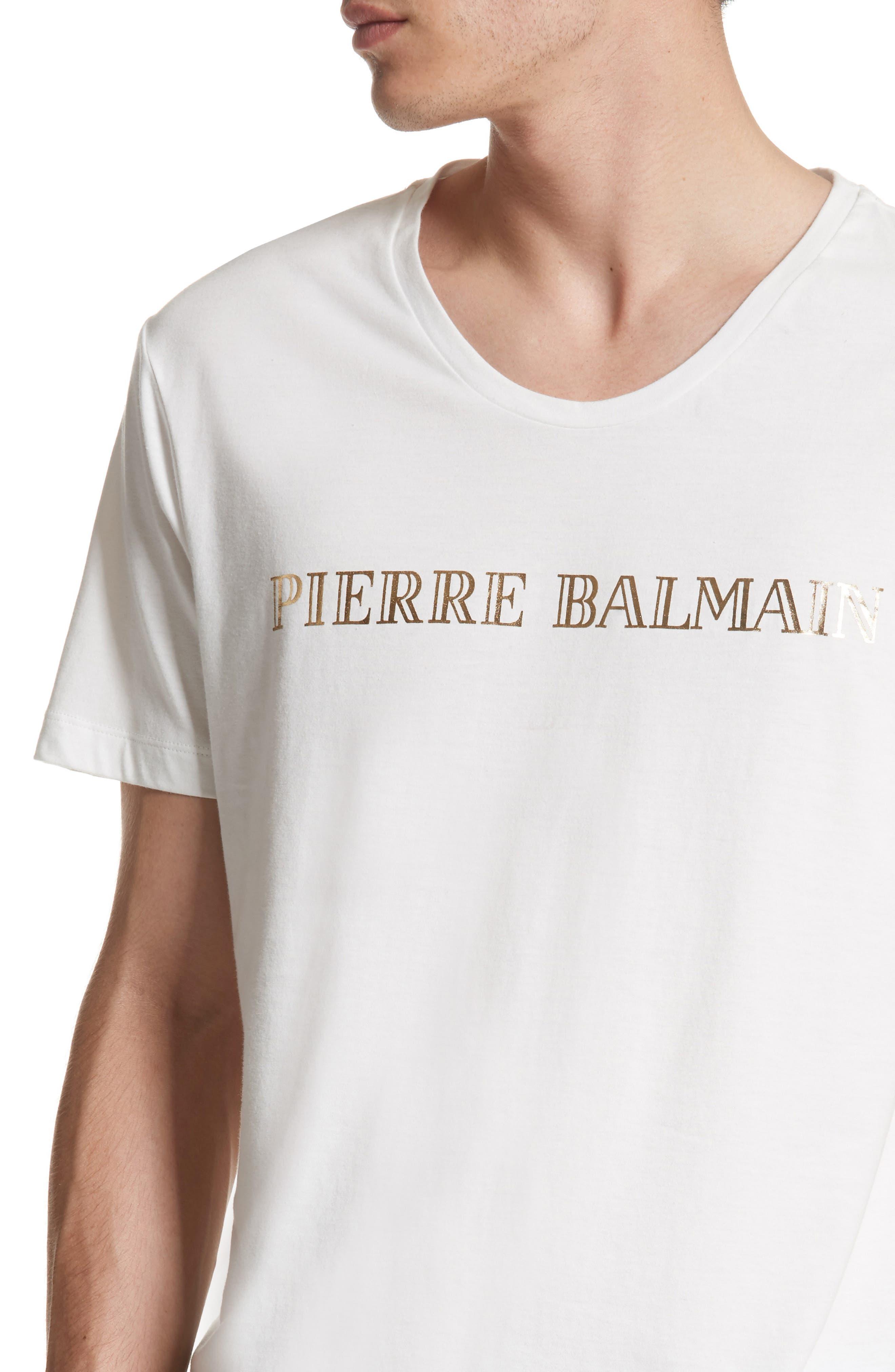 Logo Graphic T-Shirt,                             Alternate thumbnail 4, color,                             100