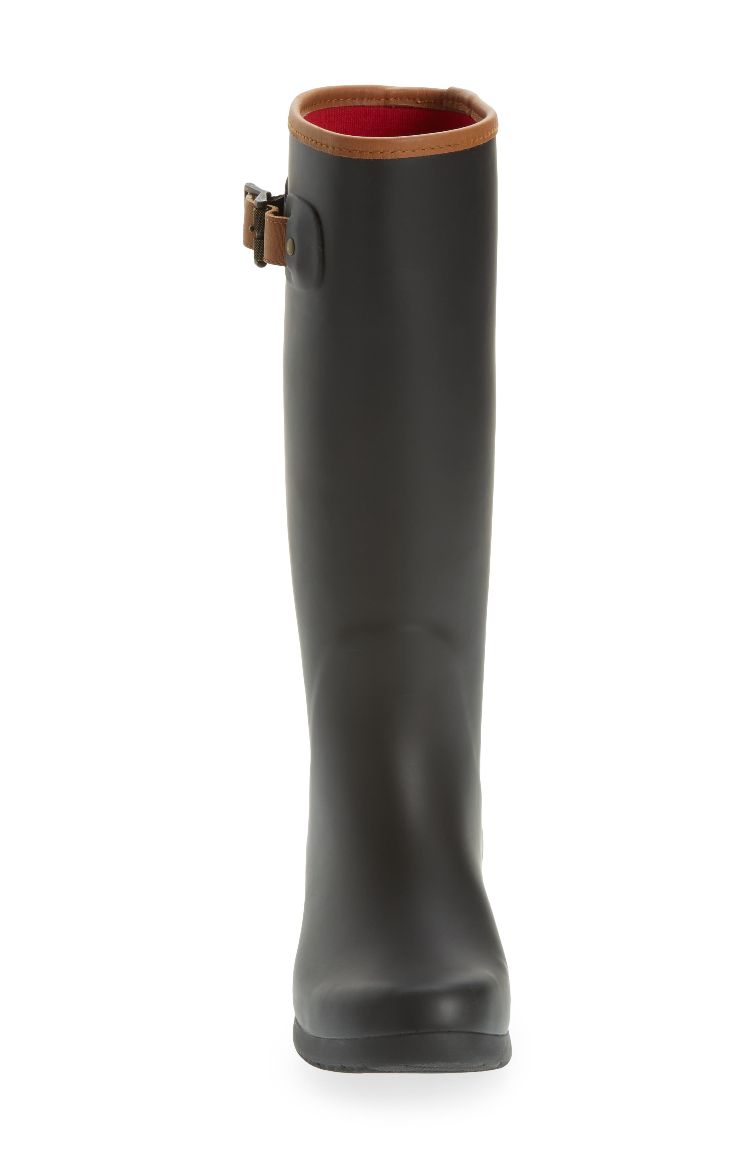 CHOOKA,                             City Tall Rain Boot,                             Alternate thumbnail 4, color,                             BLACK