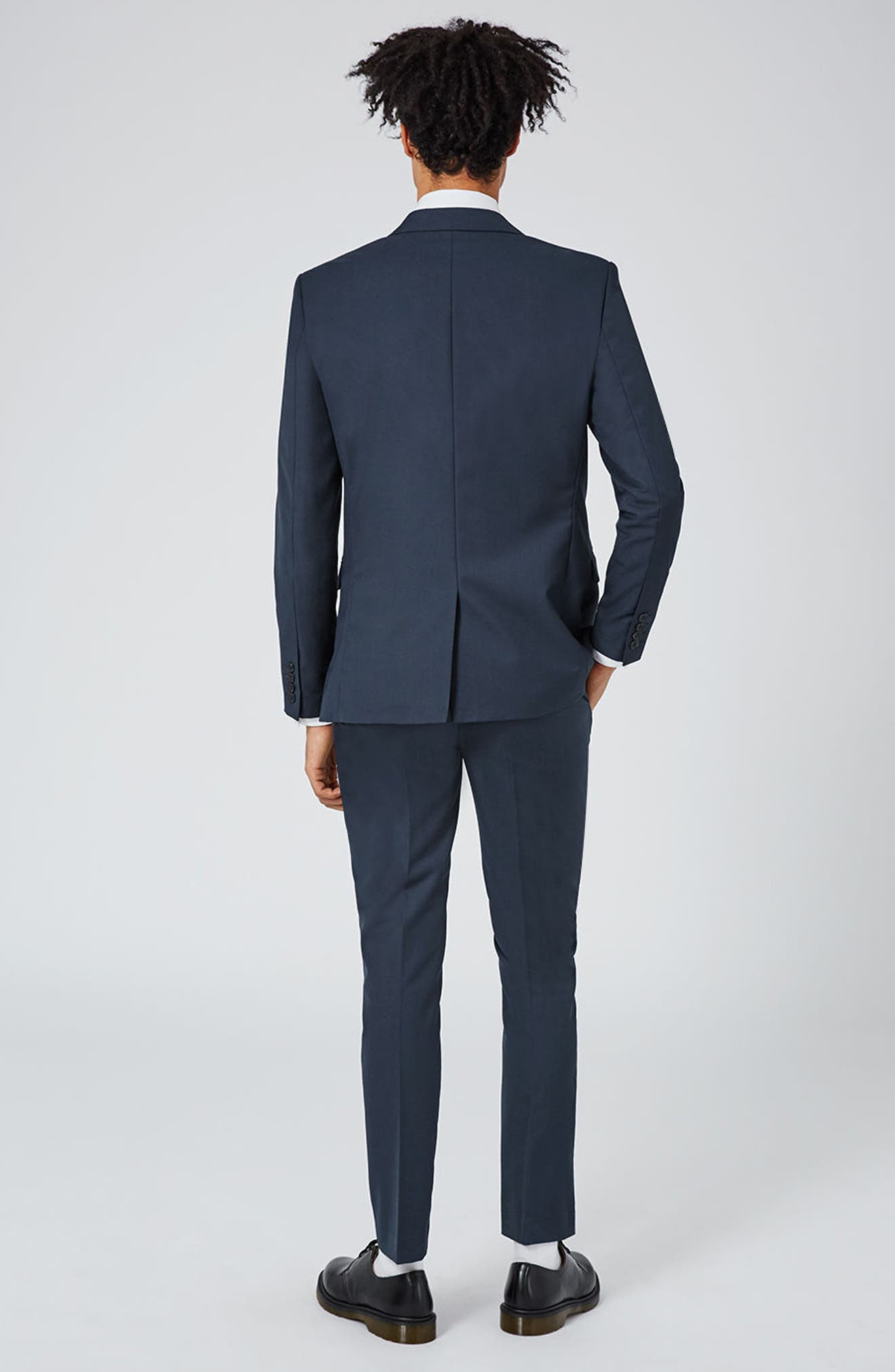 Skinny Fit Suit Jacket,                             Alternate thumbnail 6, color,                             420