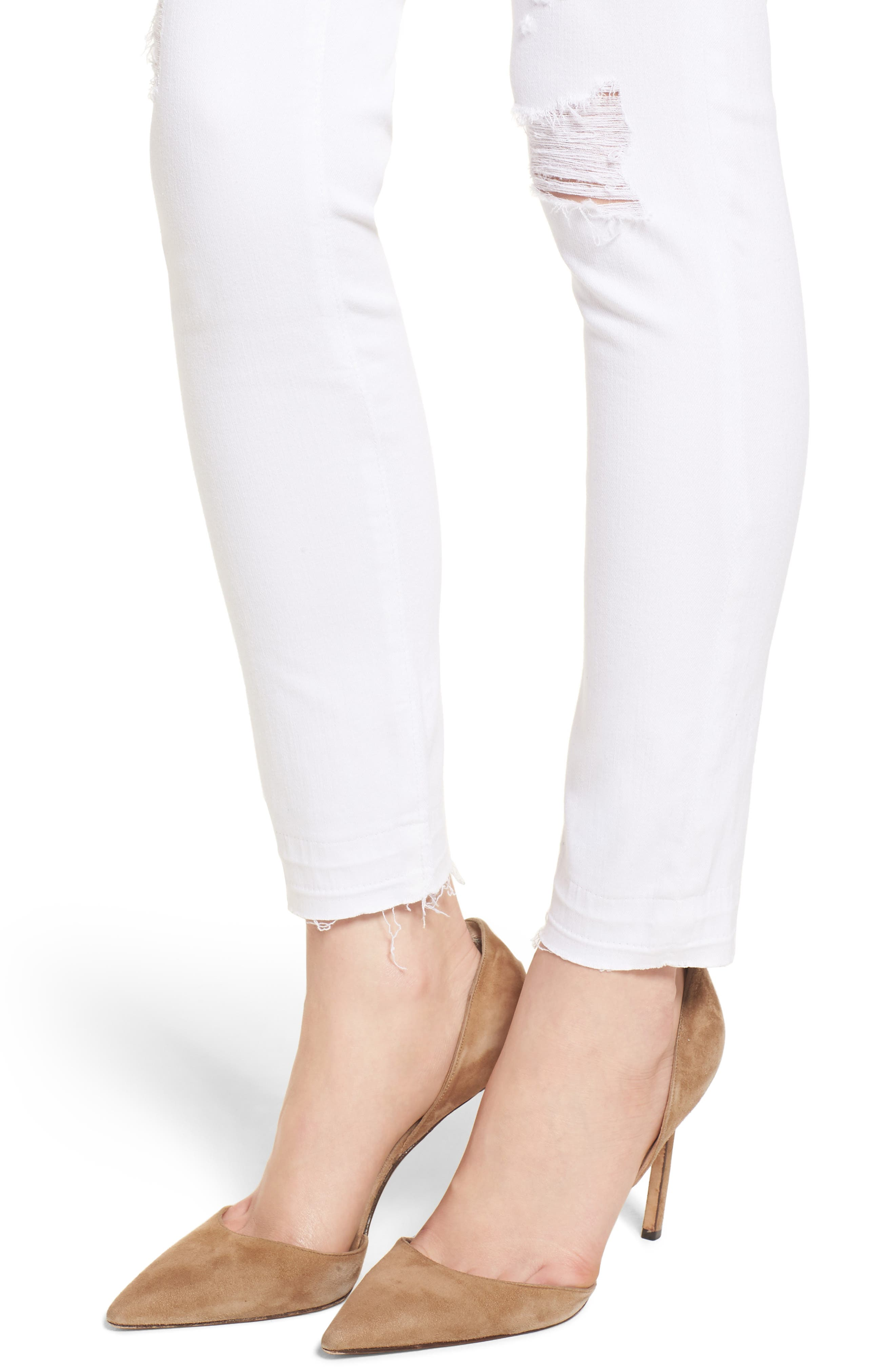 The Legging Ankle Super Skinny Jeans,                             Alternate thumbnail 4, color,