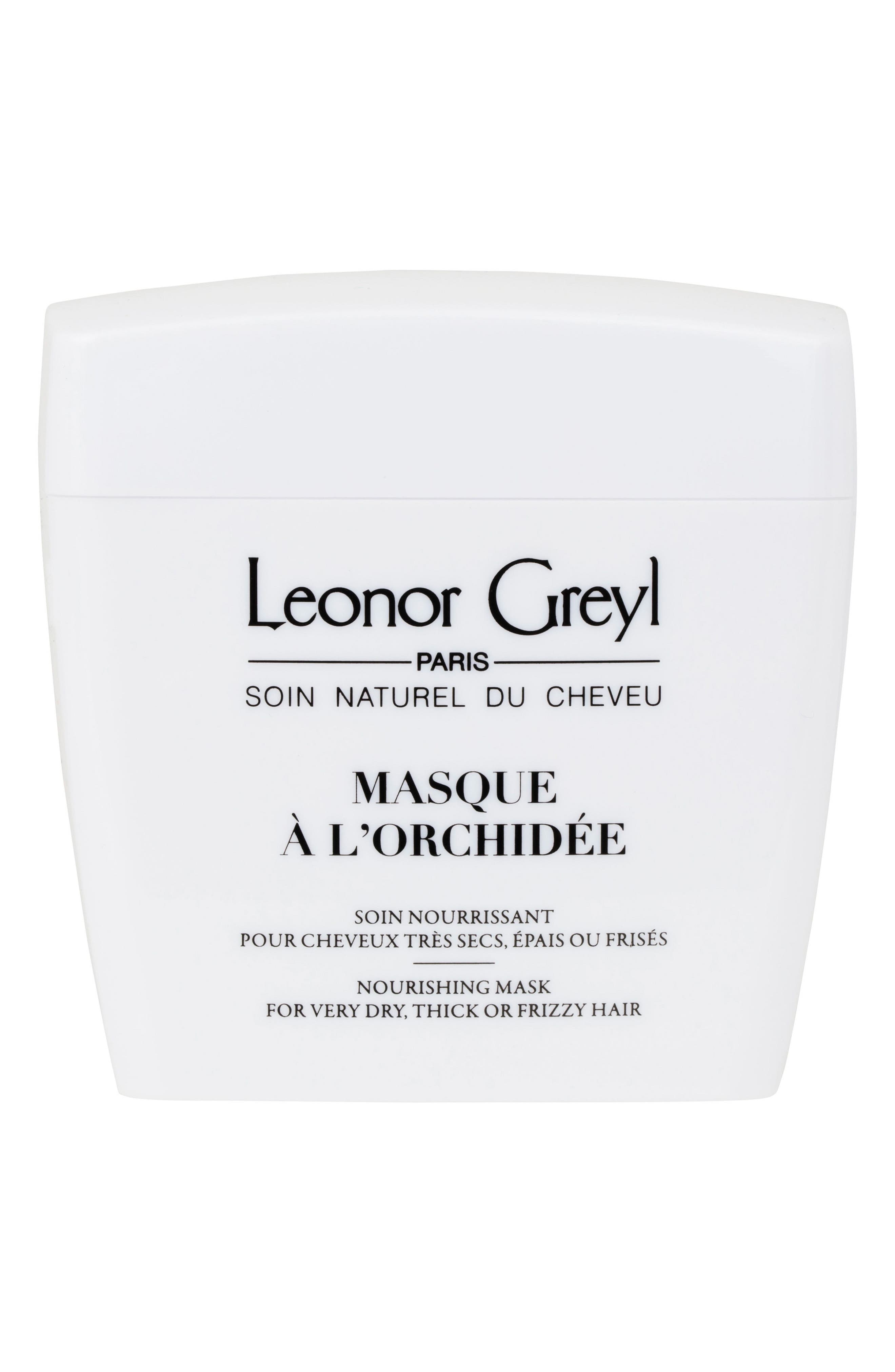 LEONOR GREYL Masque A L'Orchidee (Nourishing Mask For Very Dry, Thick, Or Frizzy Hair), 7.0 Oz./ 200 Ml