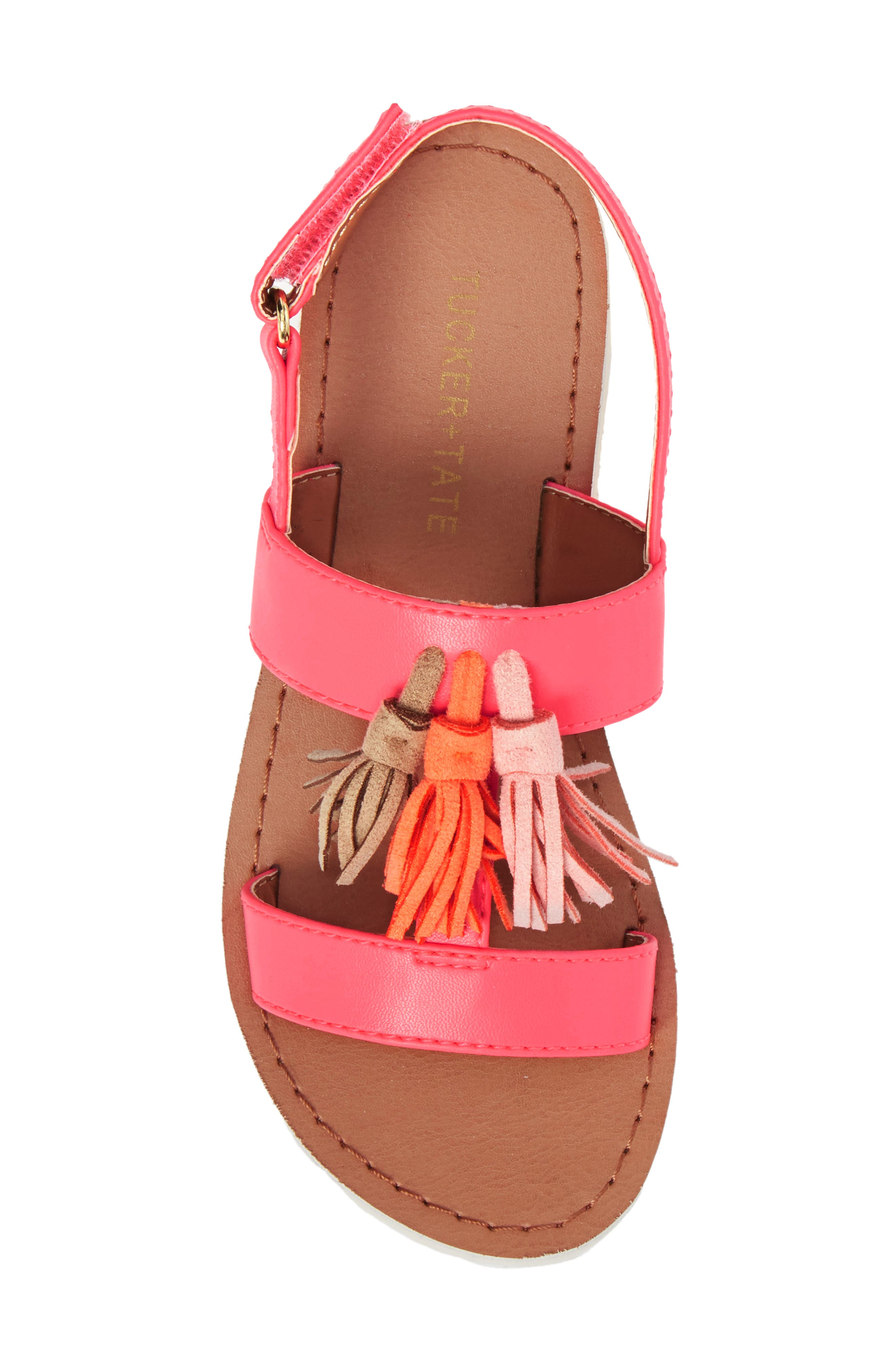 Mari Tasseled Sandal,                             Alternate thumbnail 5, color,                             690
