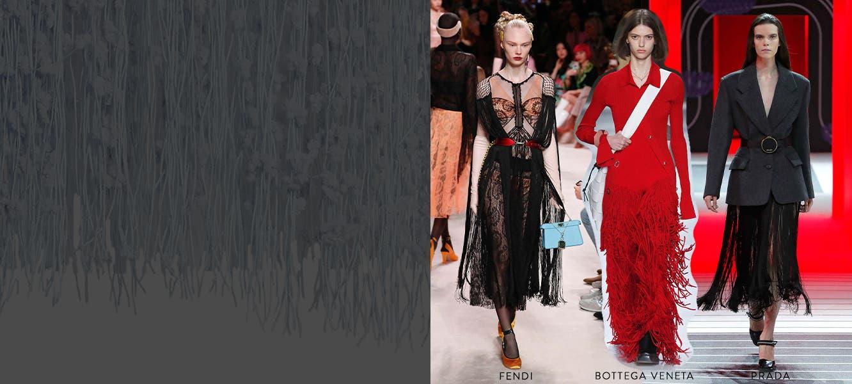 Get ahead at FW20 Milan Fashion Week with fringe.