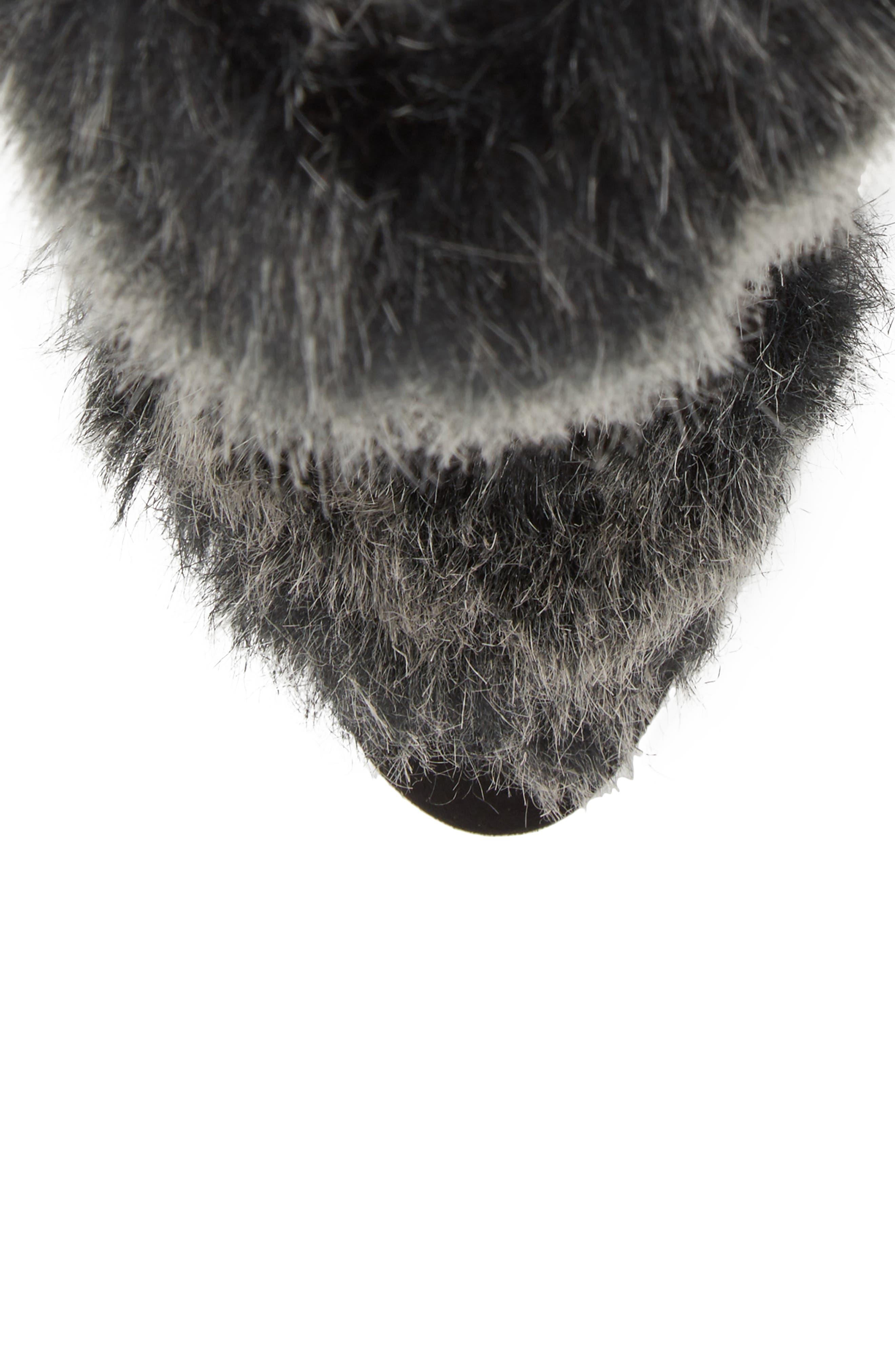 Alberta Faux Fur Boot,                             Alternate thumbnail 5, color,                             001