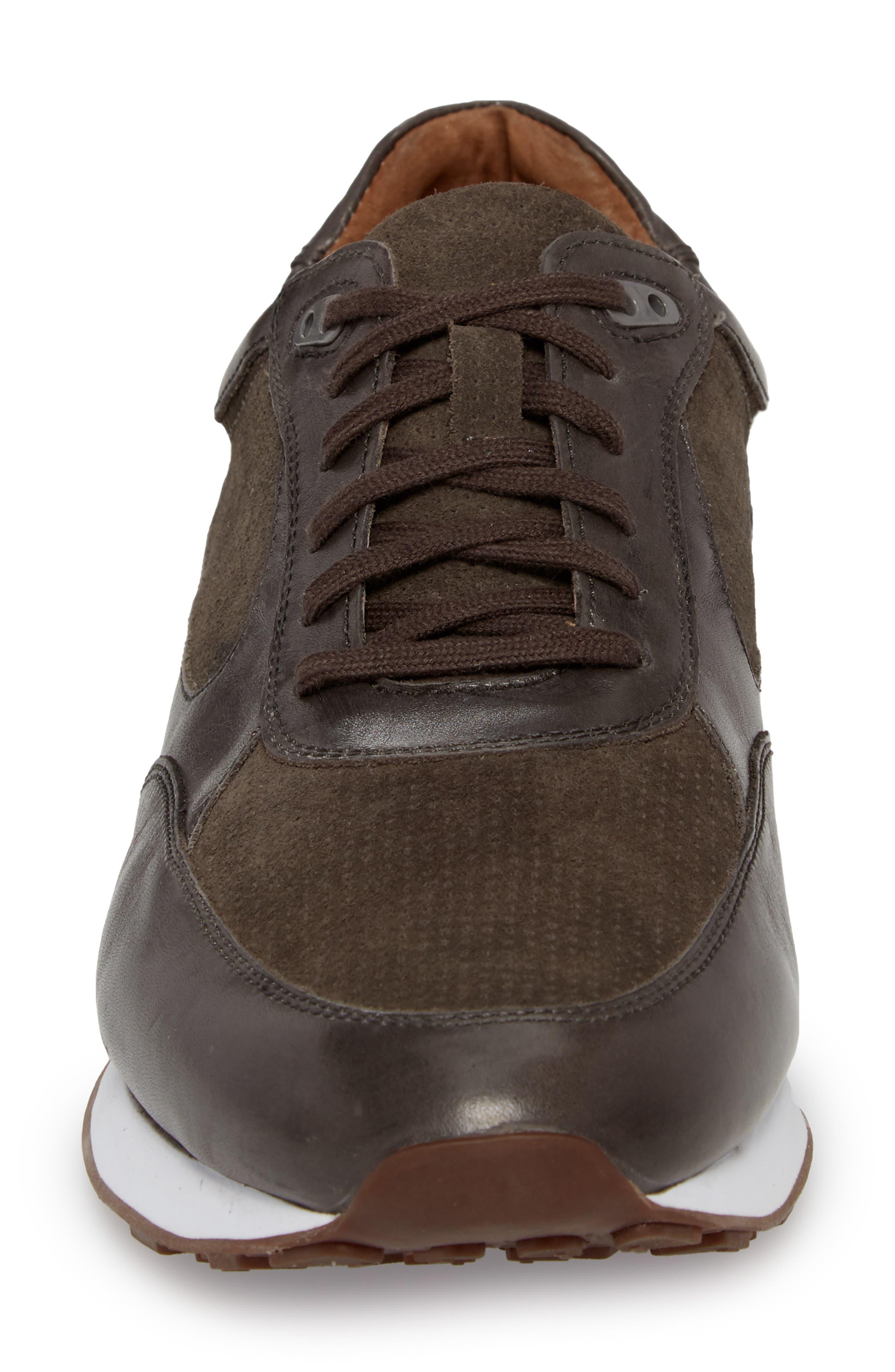 Malek Low Top Sneaker,                             Alternate thumbnail 4, color,                             020
