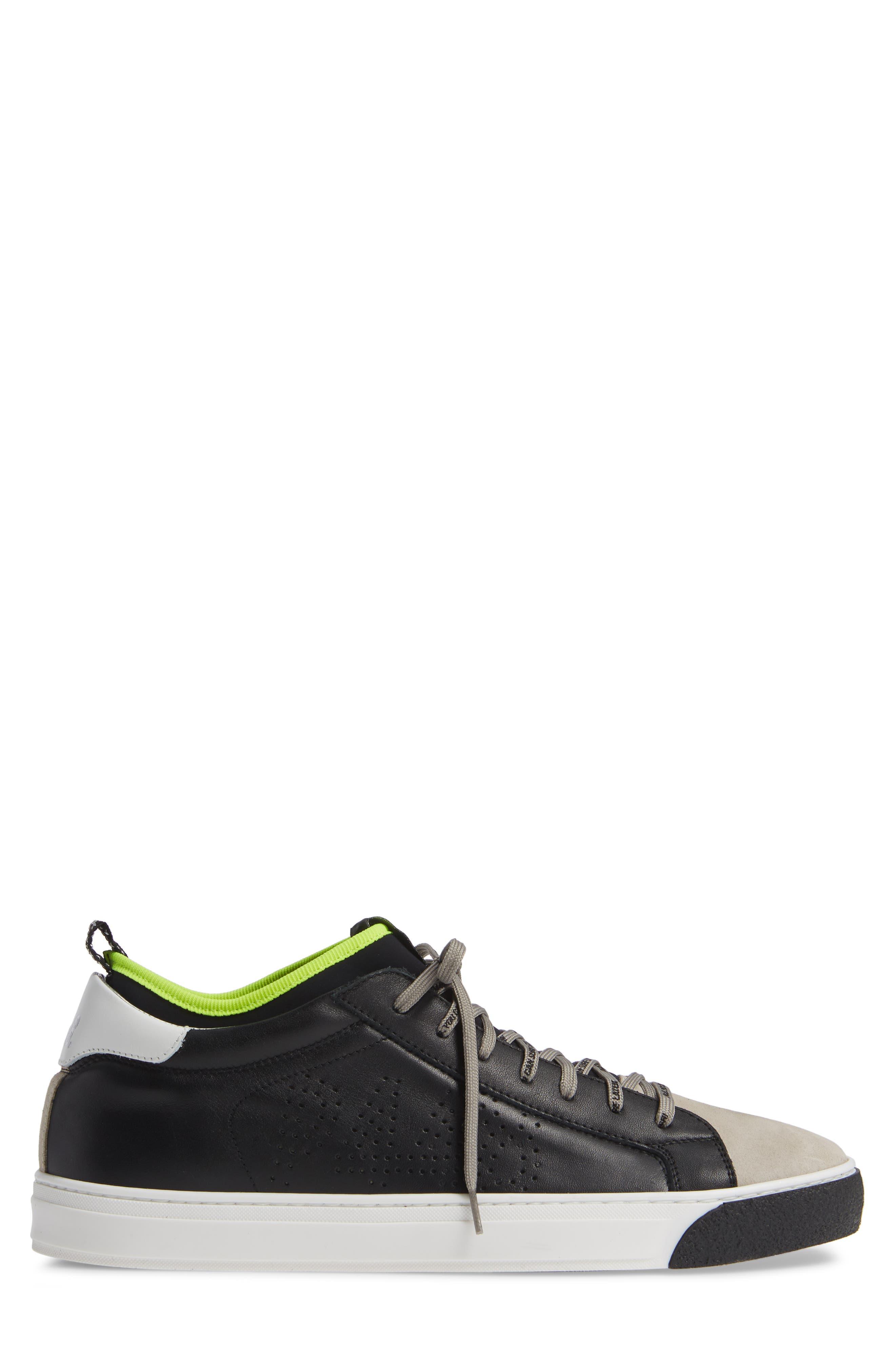 A8miamijsocks Sneaker,                             Alternate thumbnail 3, color,                             BLACK