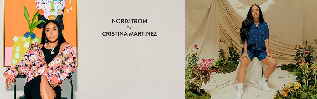 Cristina Martinez wearing Nordstrom by Cristina Martinez.