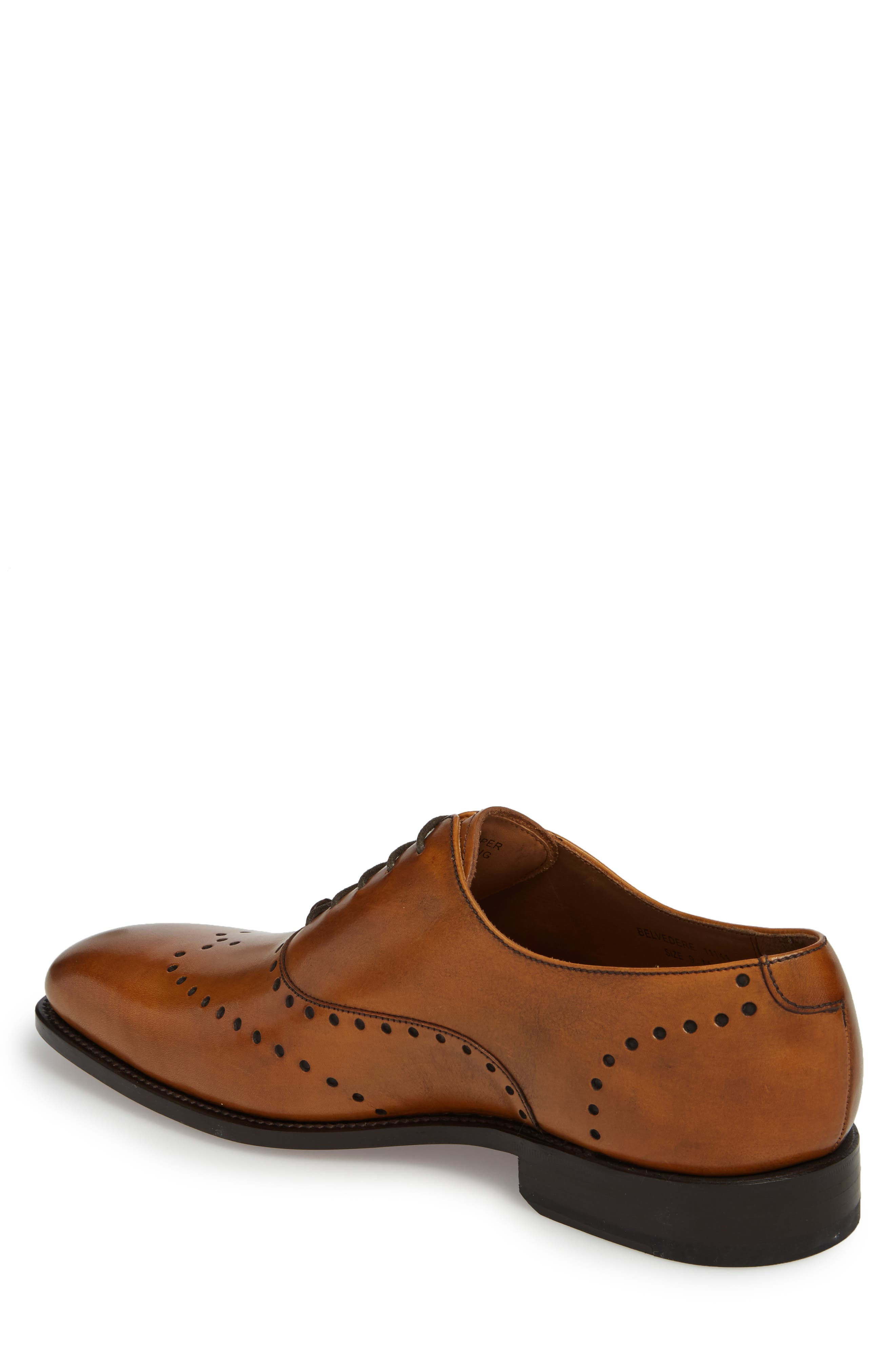 Belvedere Wingtip,                             Alternate thumbnail 2, color,                             OAK