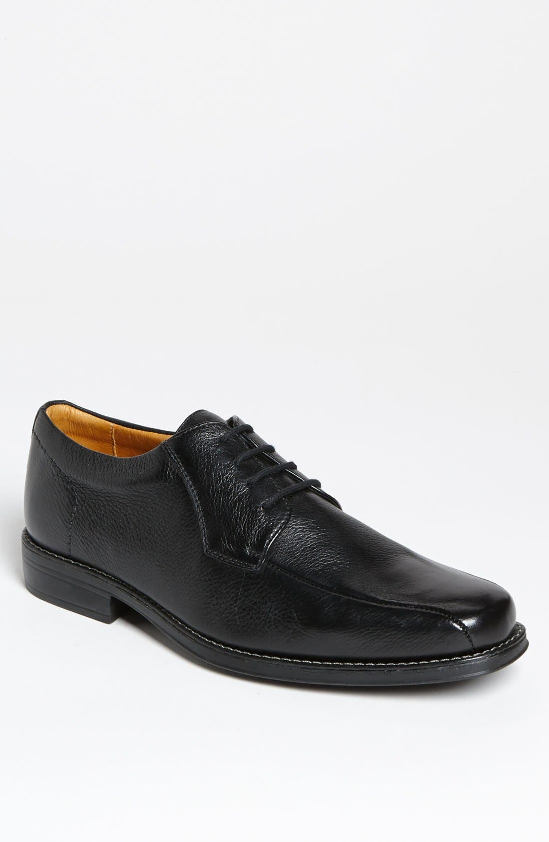 'Belmont' Bicycle Toe Derby,                             Main thumbnail 1, color,                             BLACK