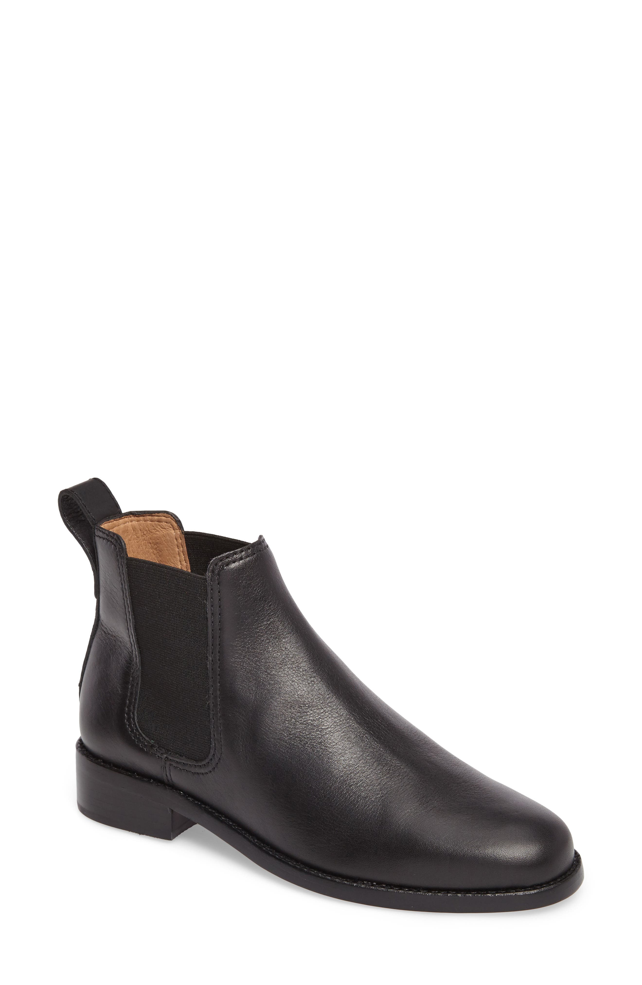 The Ainsley Chelsea Boot,                             Main thumbnail 1, color,                             001