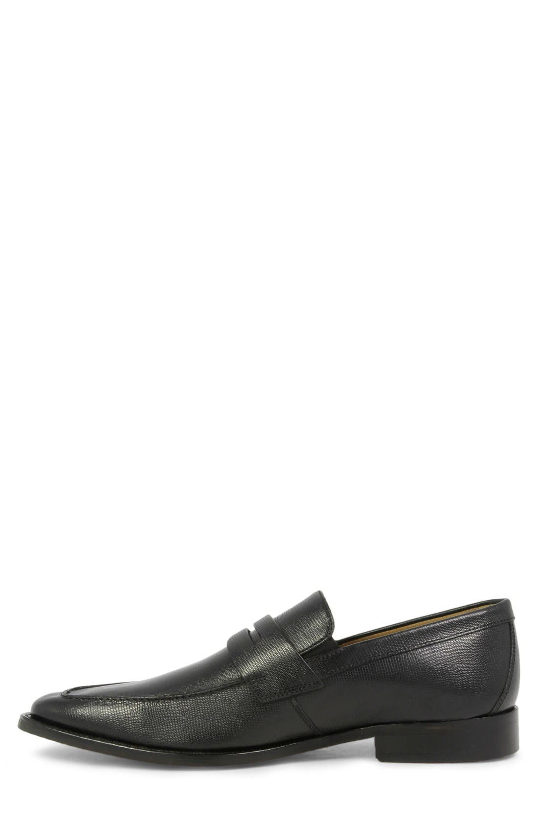 'Sabato' Penny Loafer,                             Alternate thumbnail 2, color,                             001
