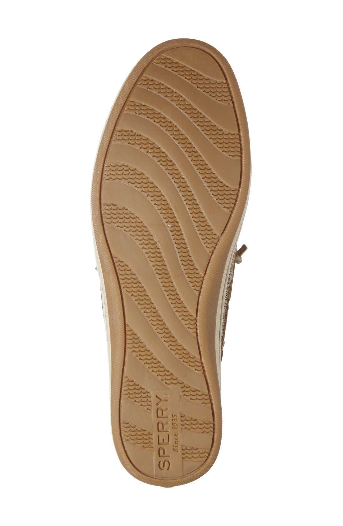 'Songfish' Boat Shoe,                             Alternate thumbnail 2, color,                             LINEN/ OAT