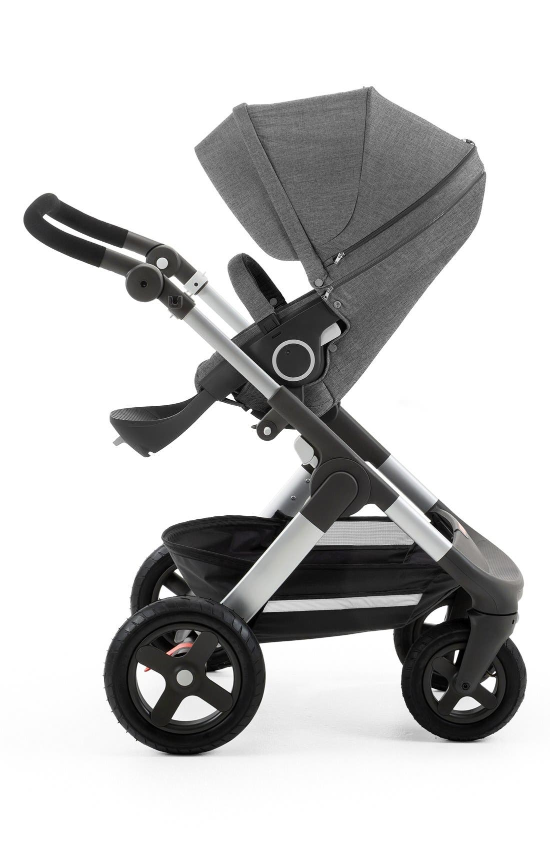 Trailz<sup>™</sup> All Terrain Stroller,                         Main,                         color, BLACK MELANGE