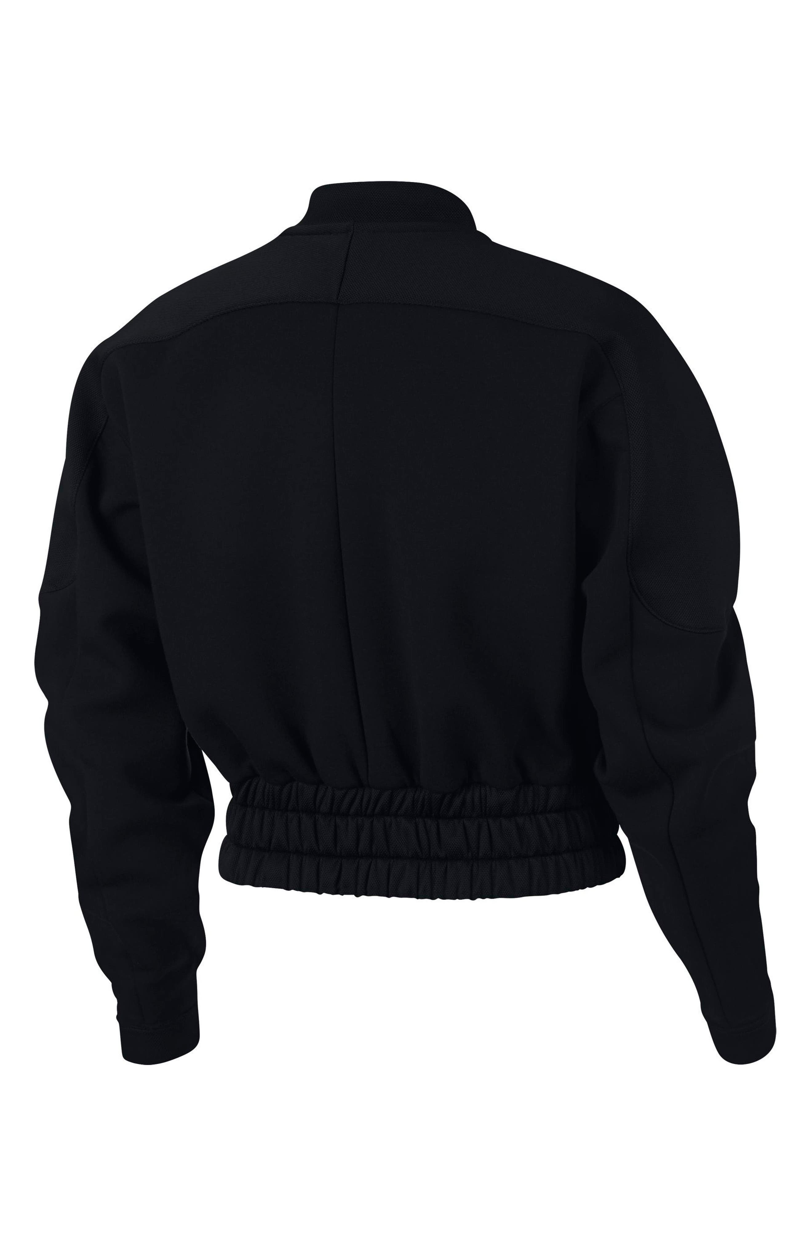 Dry Women's Bomber Jacket,                             Alternate thumbnail 2, color,                             BLACK/ BLACK