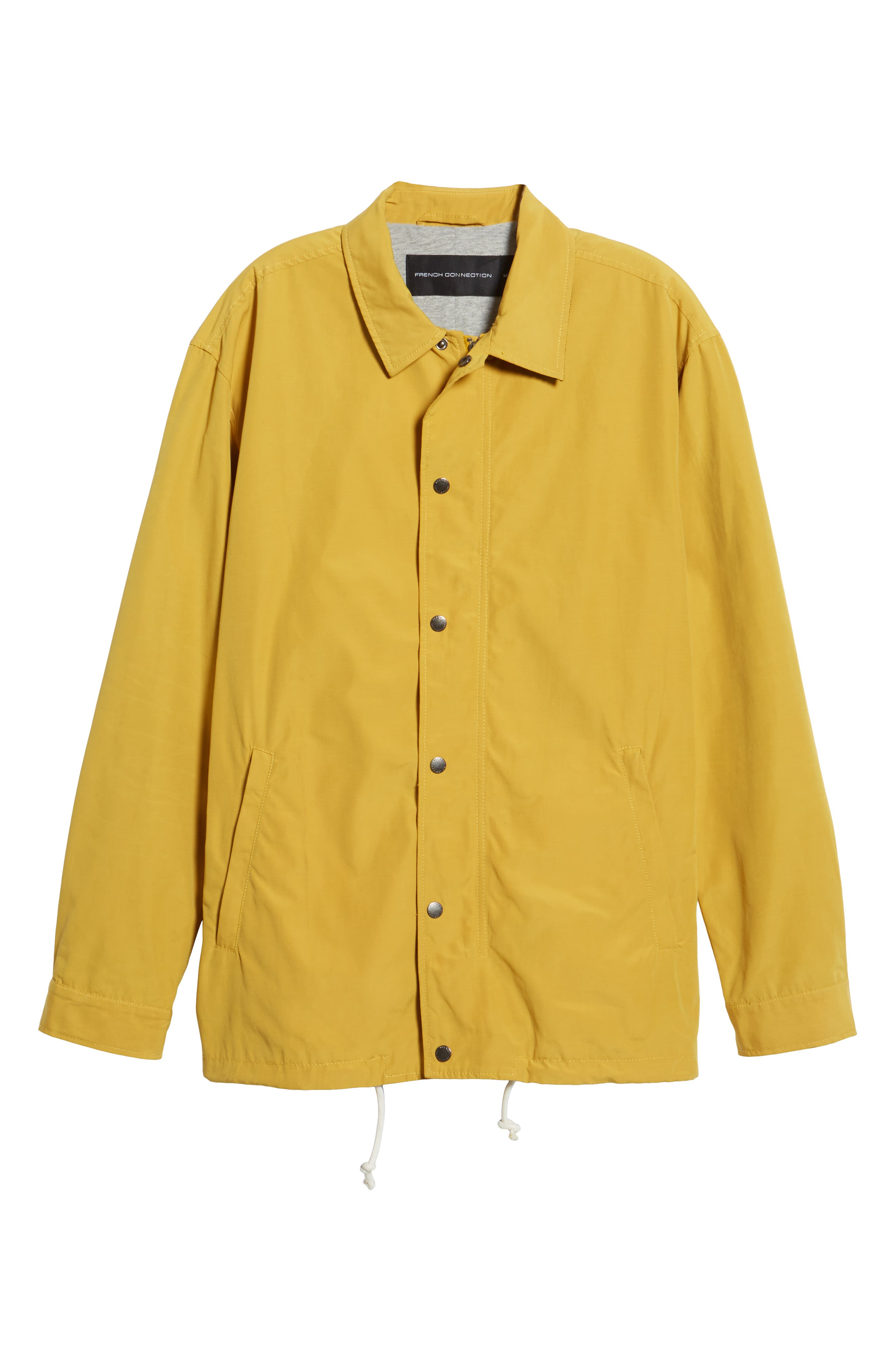 FRENCH CONNECTION,                             Waxed Coach's Jacket,                             Alternate thumbnail 5, color,                             700