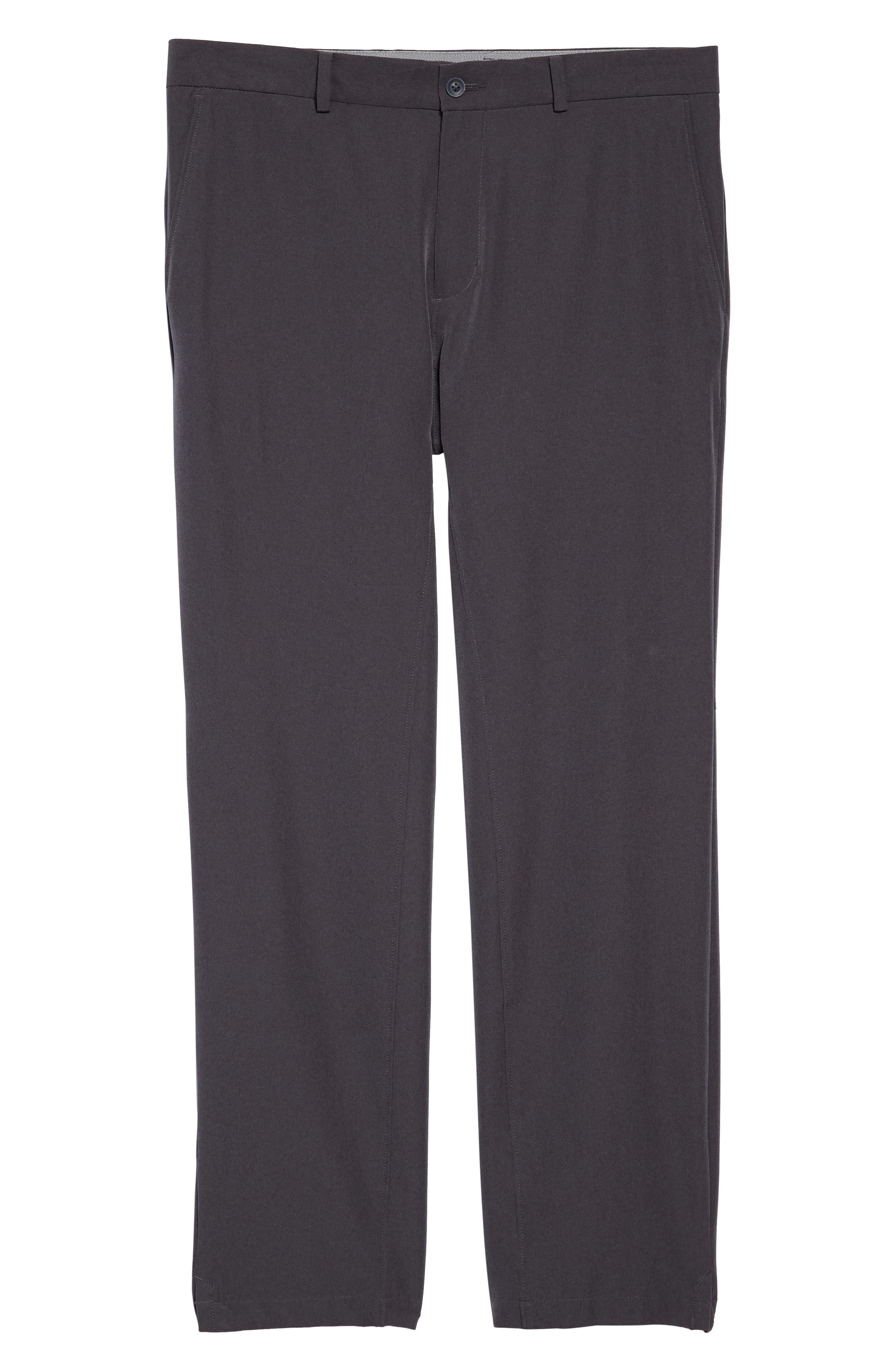 Hybrid Flex Golf Pants,                             Alternate thumbnail 6, color,                             CHARCOAL HEATHER/ DARK GREY