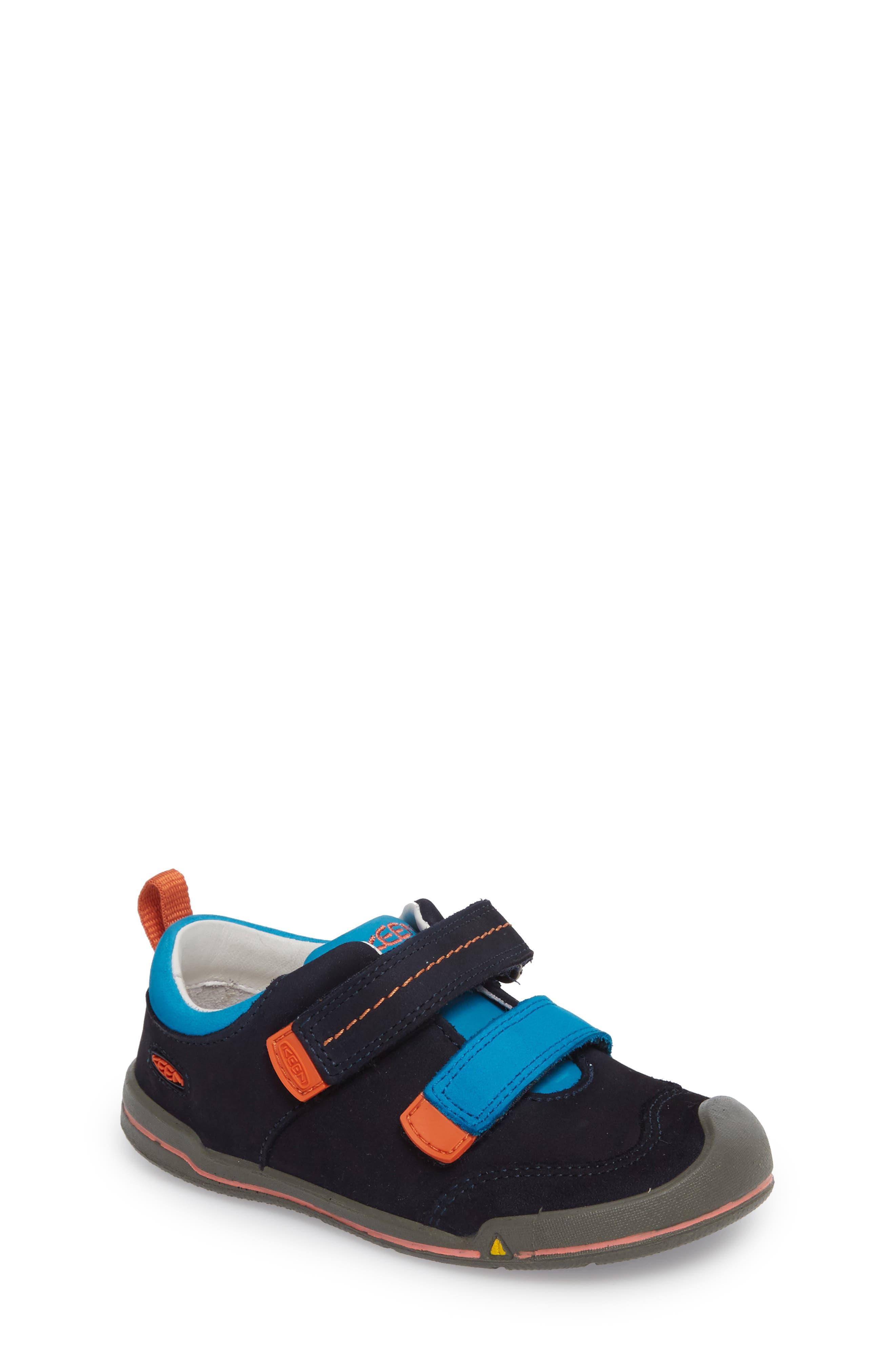 Sprout Double Strap Sneaker,                         Main,                         color, DRESS BLUES/ KOI