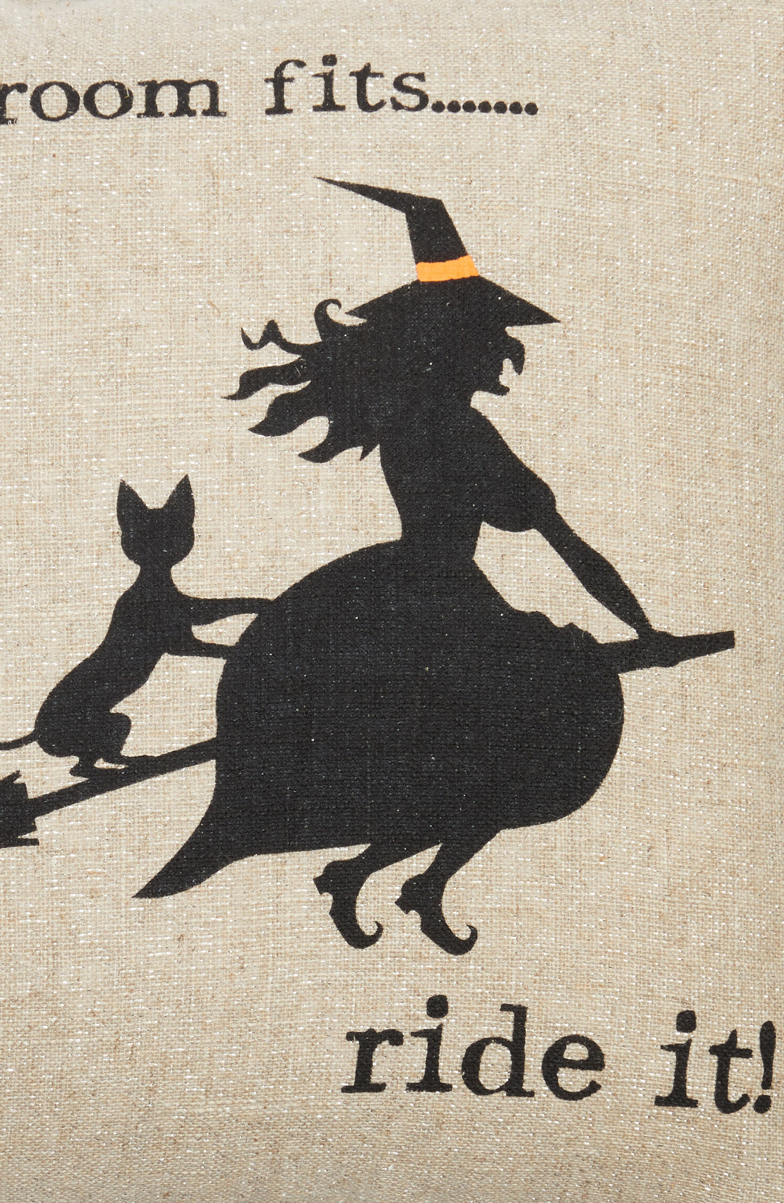 Witty Witch Pillow,                             Alternate thumbnail 3, color,                             250