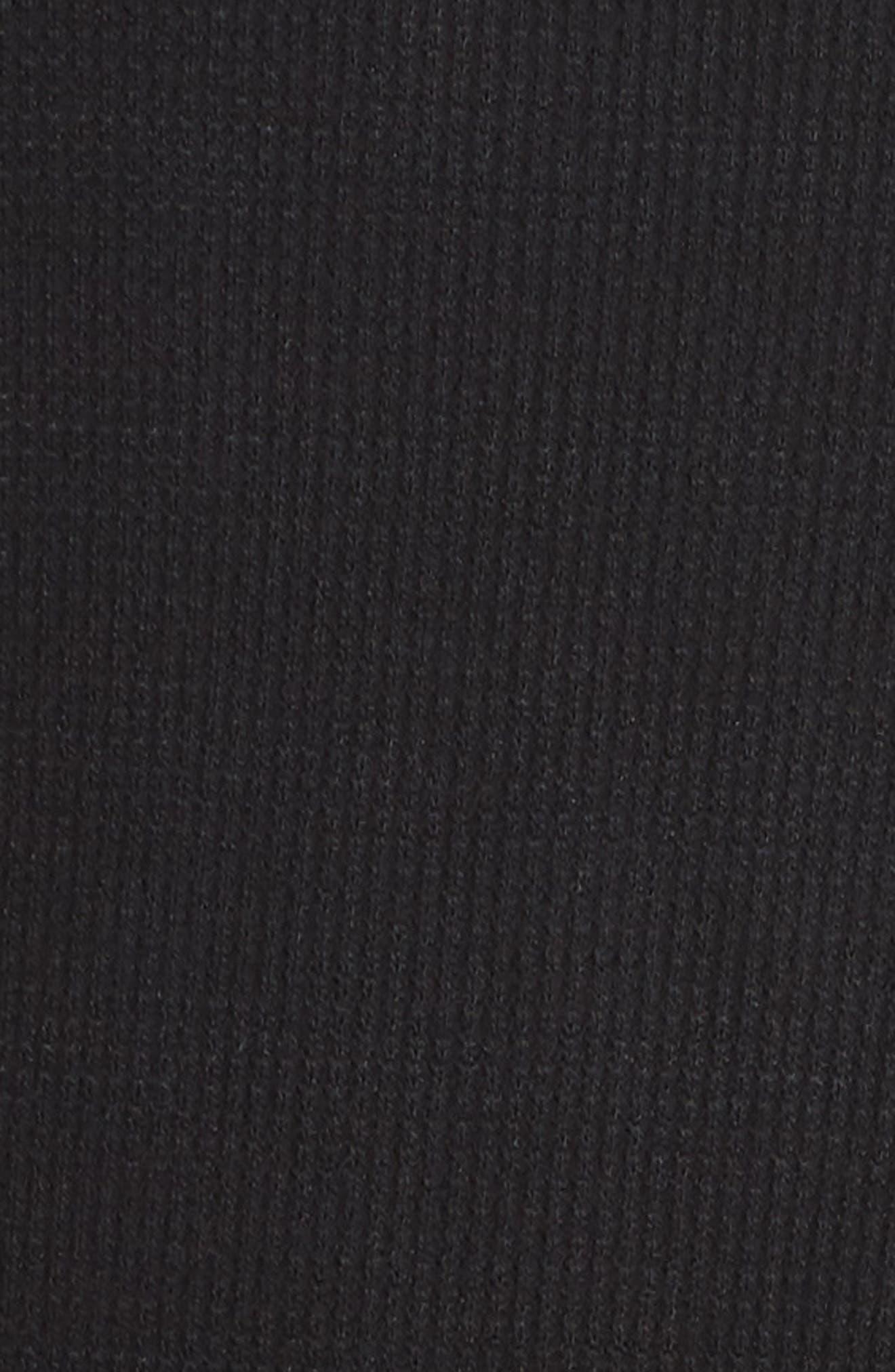 PJ SALVAGE,                             Ringer Thermal Tee,                             Alternate thumbnail 5, color,                             001