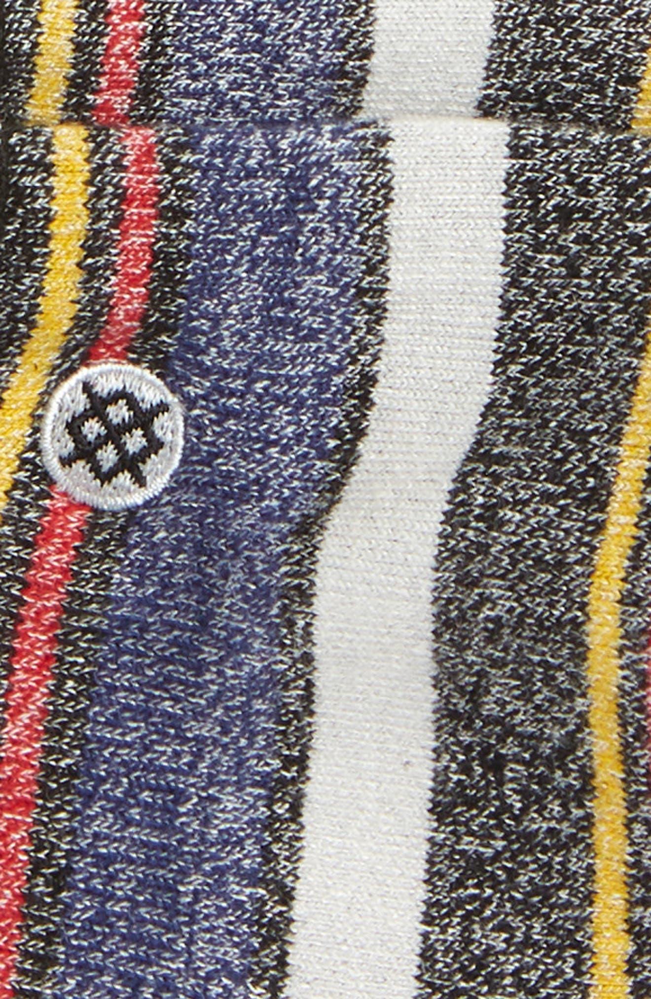 Keating Low Socks,                             Alternate thumbnail 2, color,                             BLACK