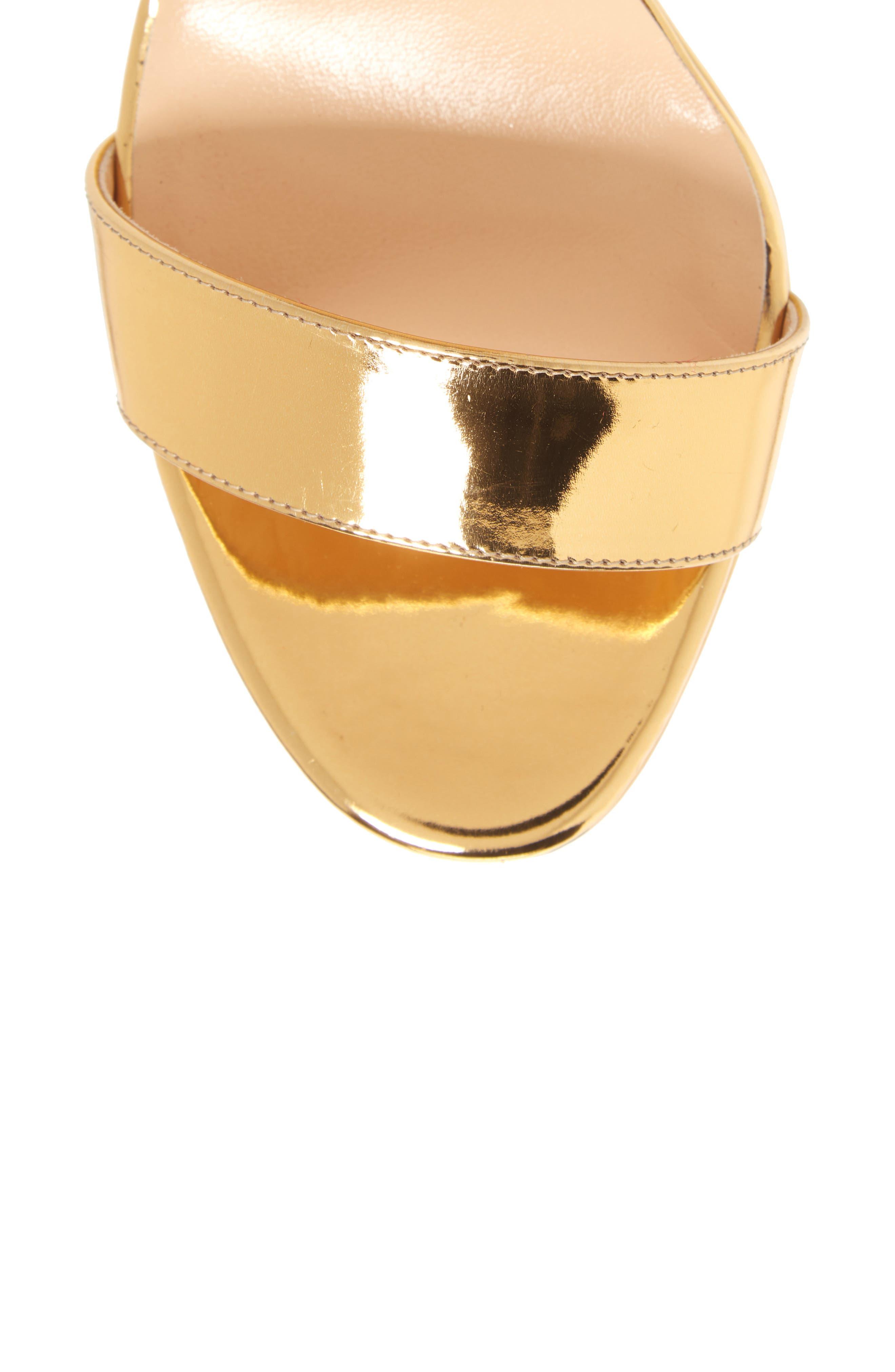 Choca Platform Sandal,                             Alternate thumbnail 5, color,                             GOLD