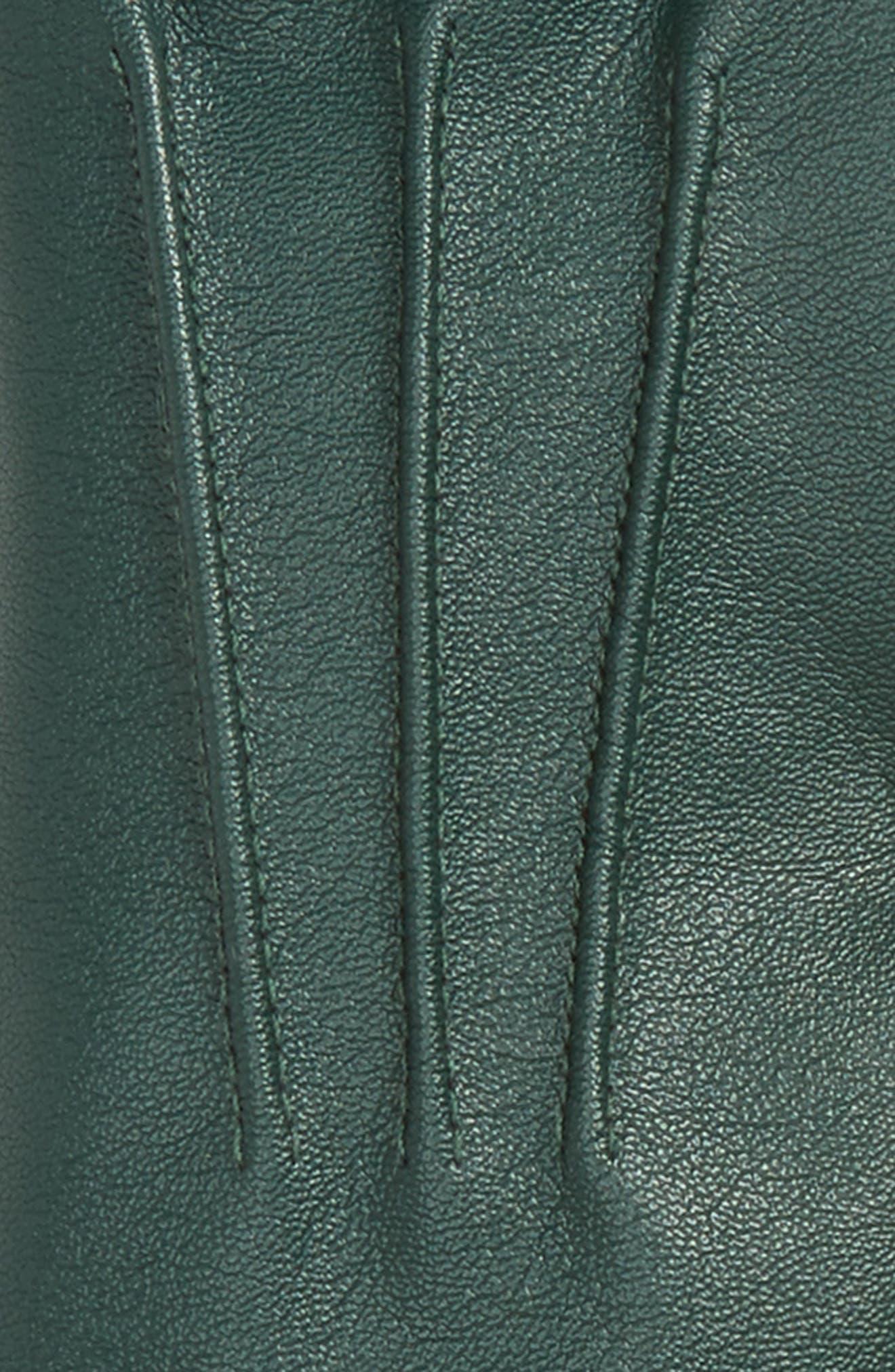 Faux Leather Gloves,                             Alternate thumbnail 7, color,