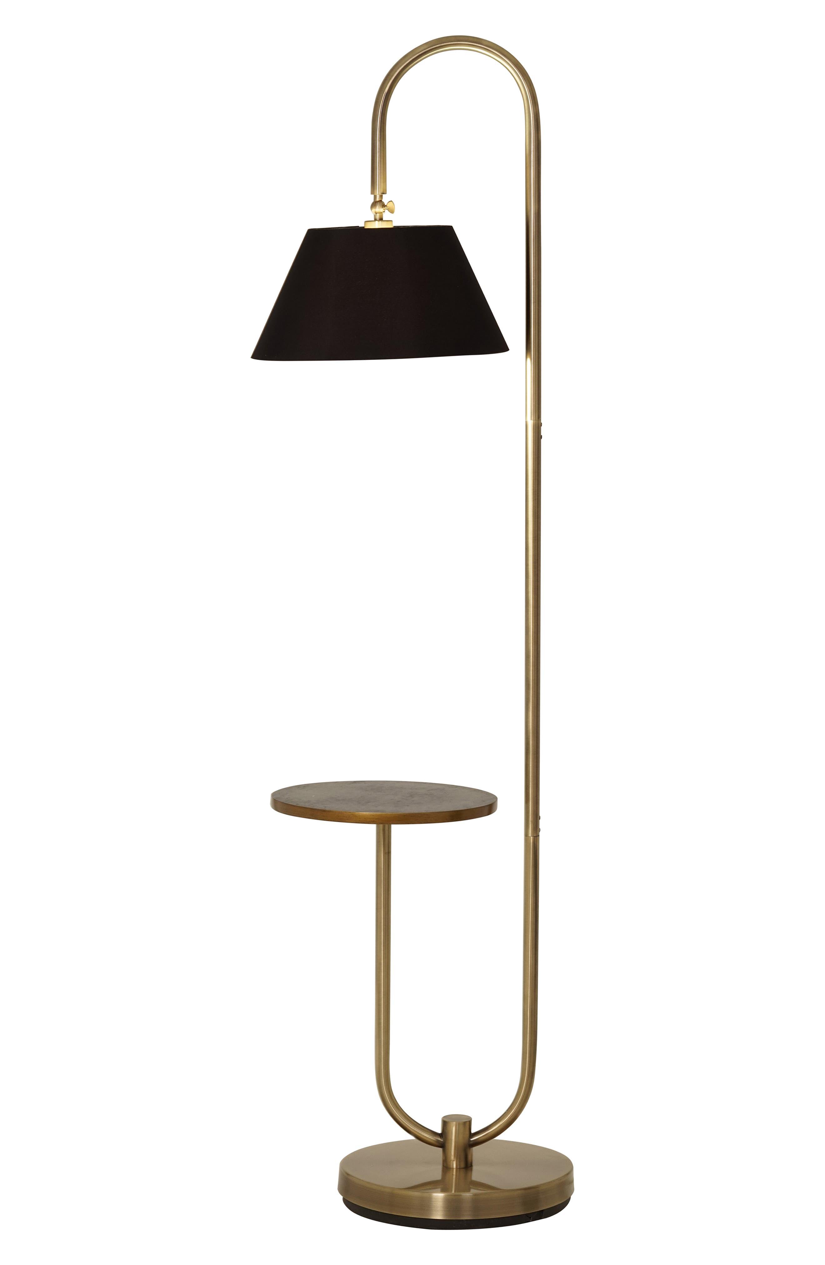 Jalexander Lighting Porter Floor Lamp Size One Size  Metallic