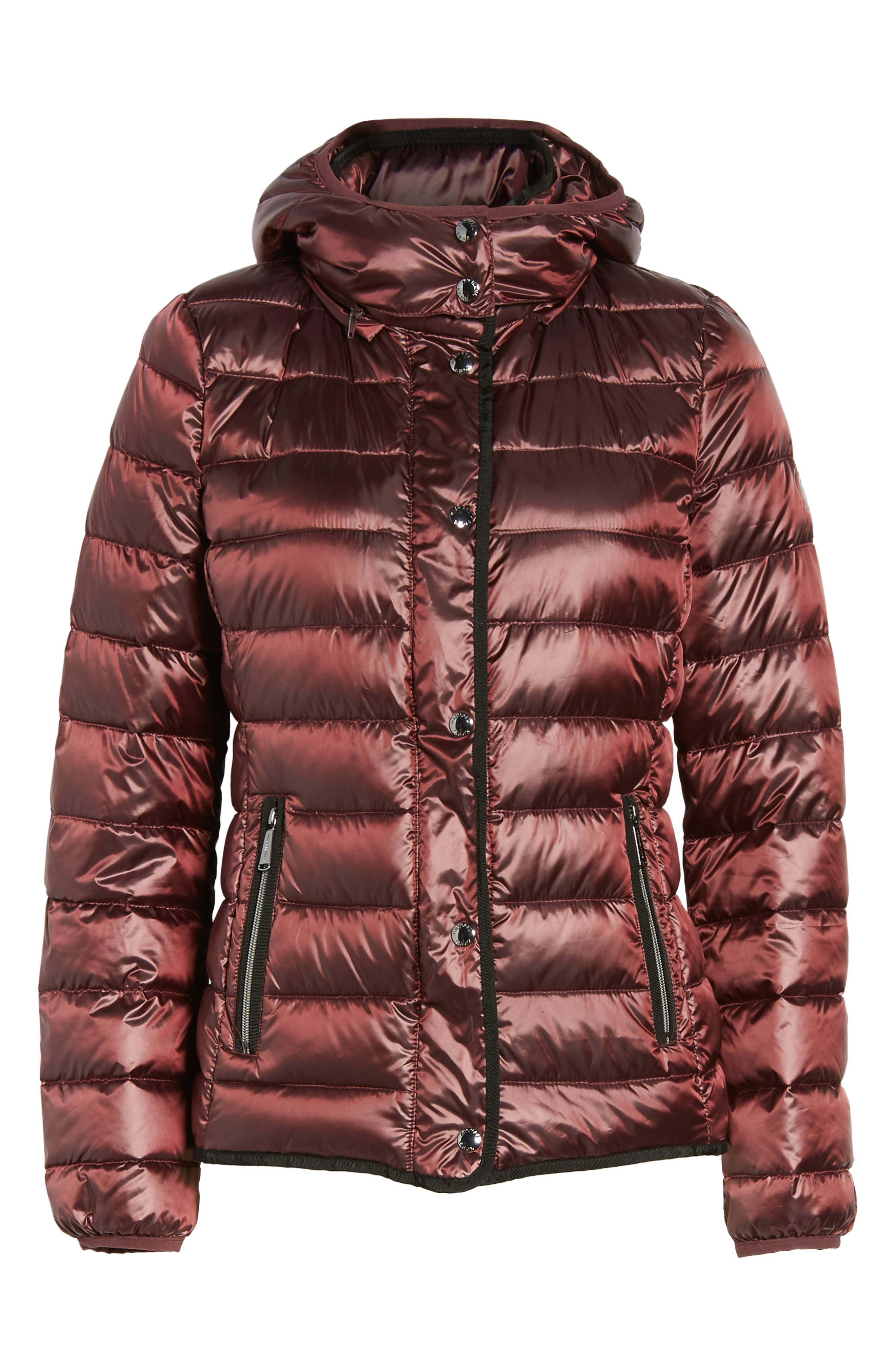 Packable Insulated Jacket with Removable Hood,                             Alternate thumbnail 20, color,